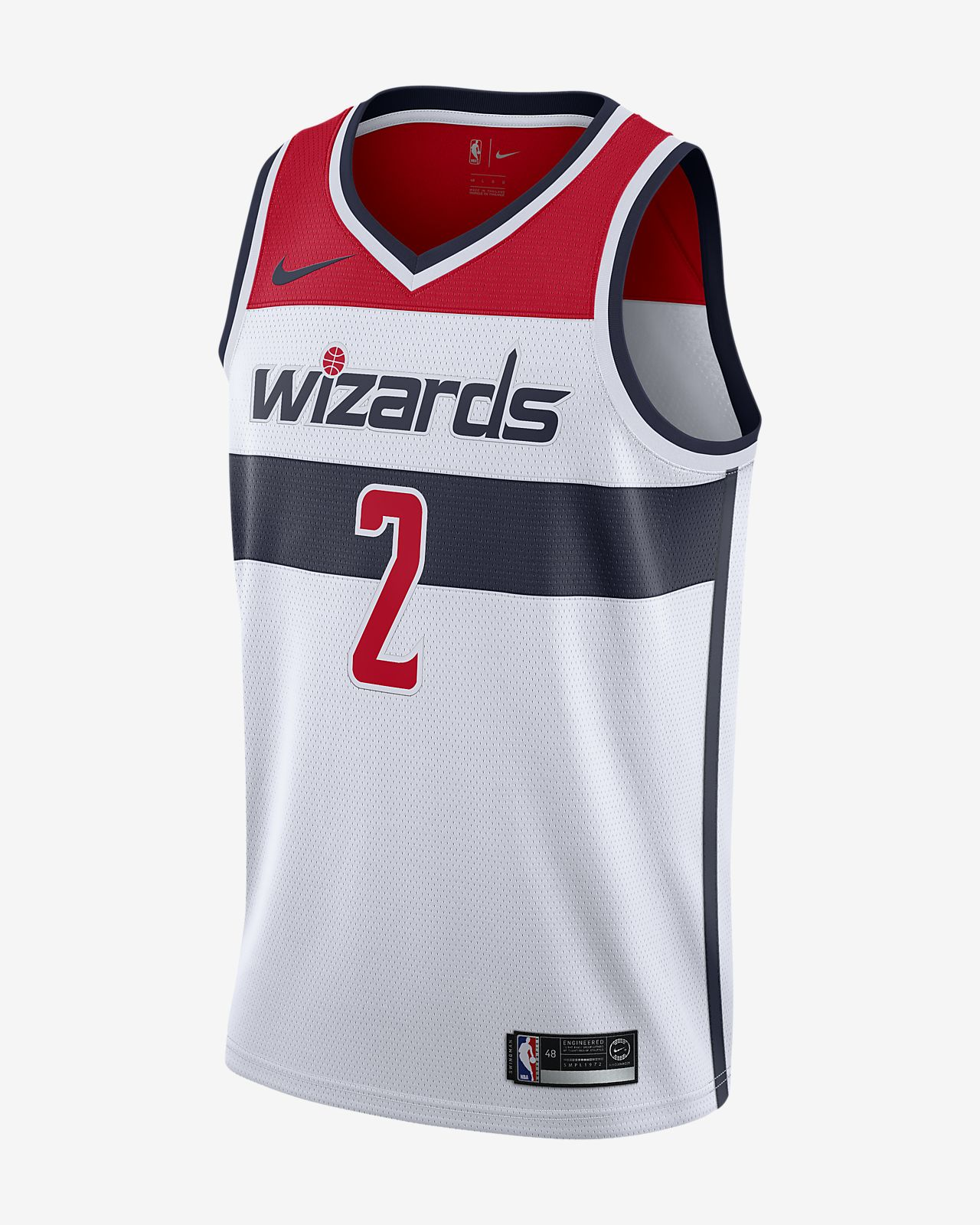 af4e74cbeabf Men s Nike NBA Connected Jersey. John Wall Association Edition Swingman (Washington  Wizards)