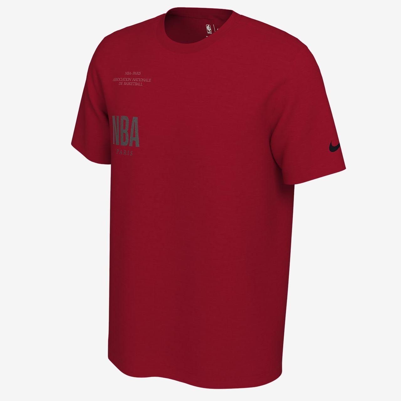 """T-shirt NBA Nike """"Paris"""" para homem"""