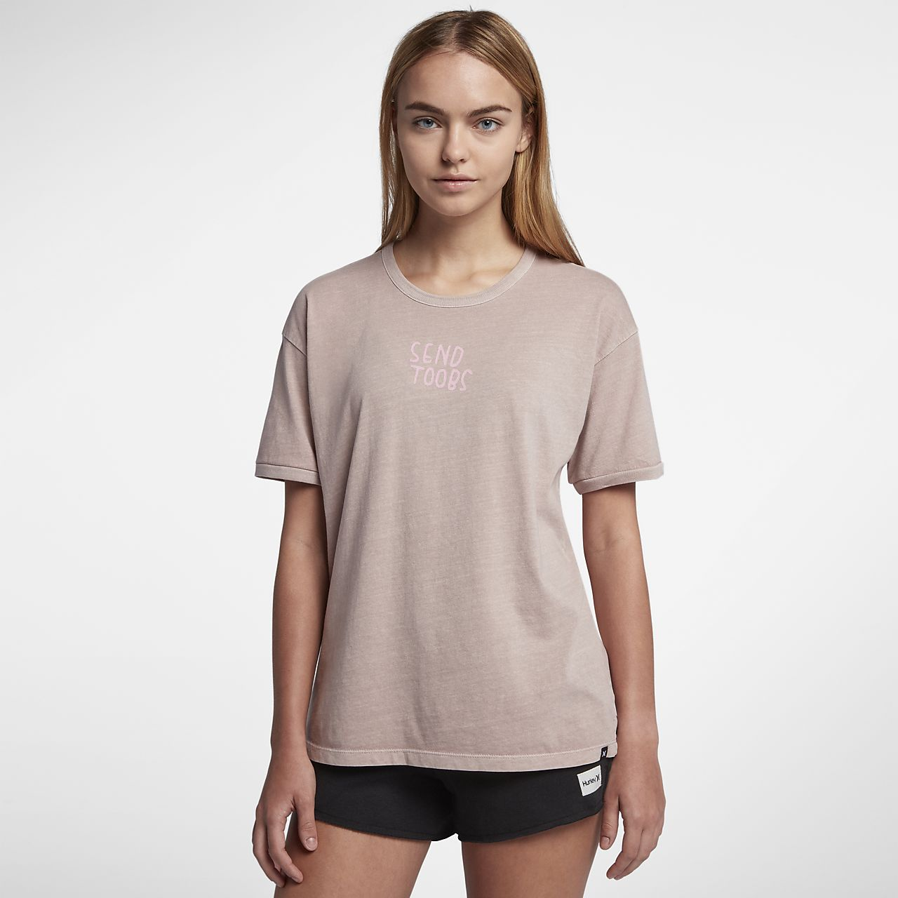 Hurley Send Toobs Wash Ringer Women's T-Shirt