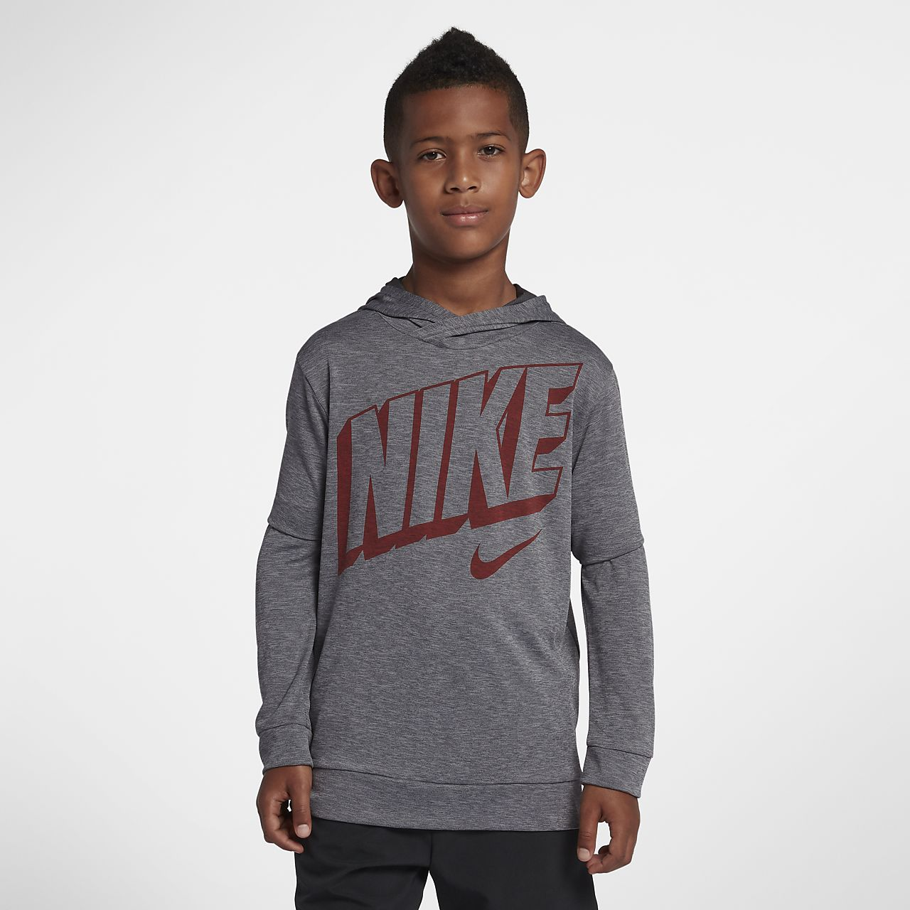 Nike Dri-FIT Breathe Big Kids' (Boys') Long Sleeve Training Top
