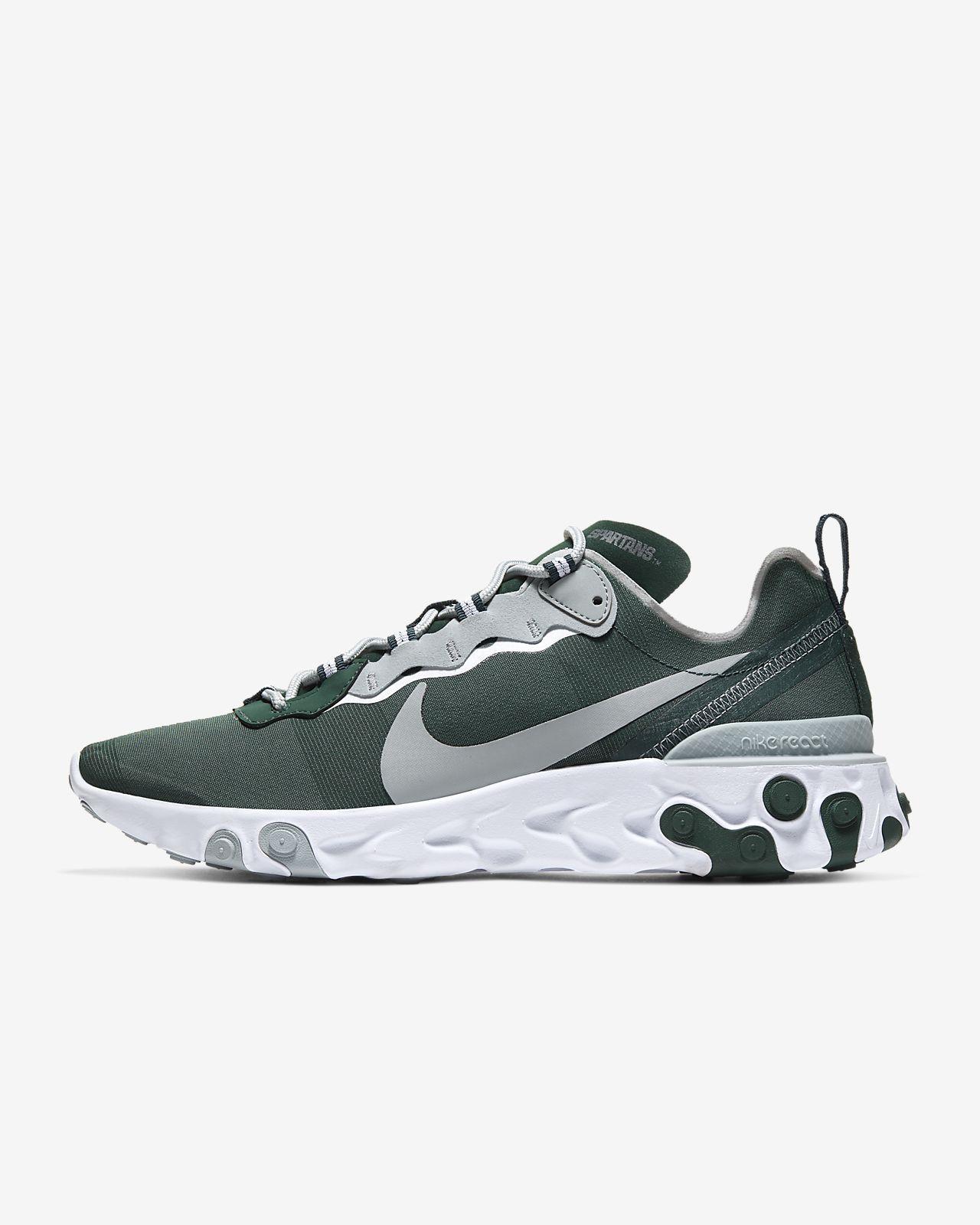 Nike React Element 55 (Michigan State) Men's Shoe