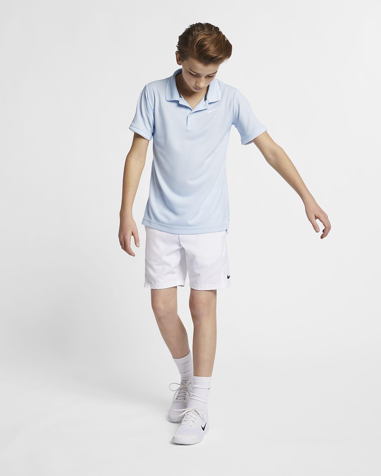 be89751746 NikeCourt Dri-FIT Older Kids' (Boys') Tennis Polo