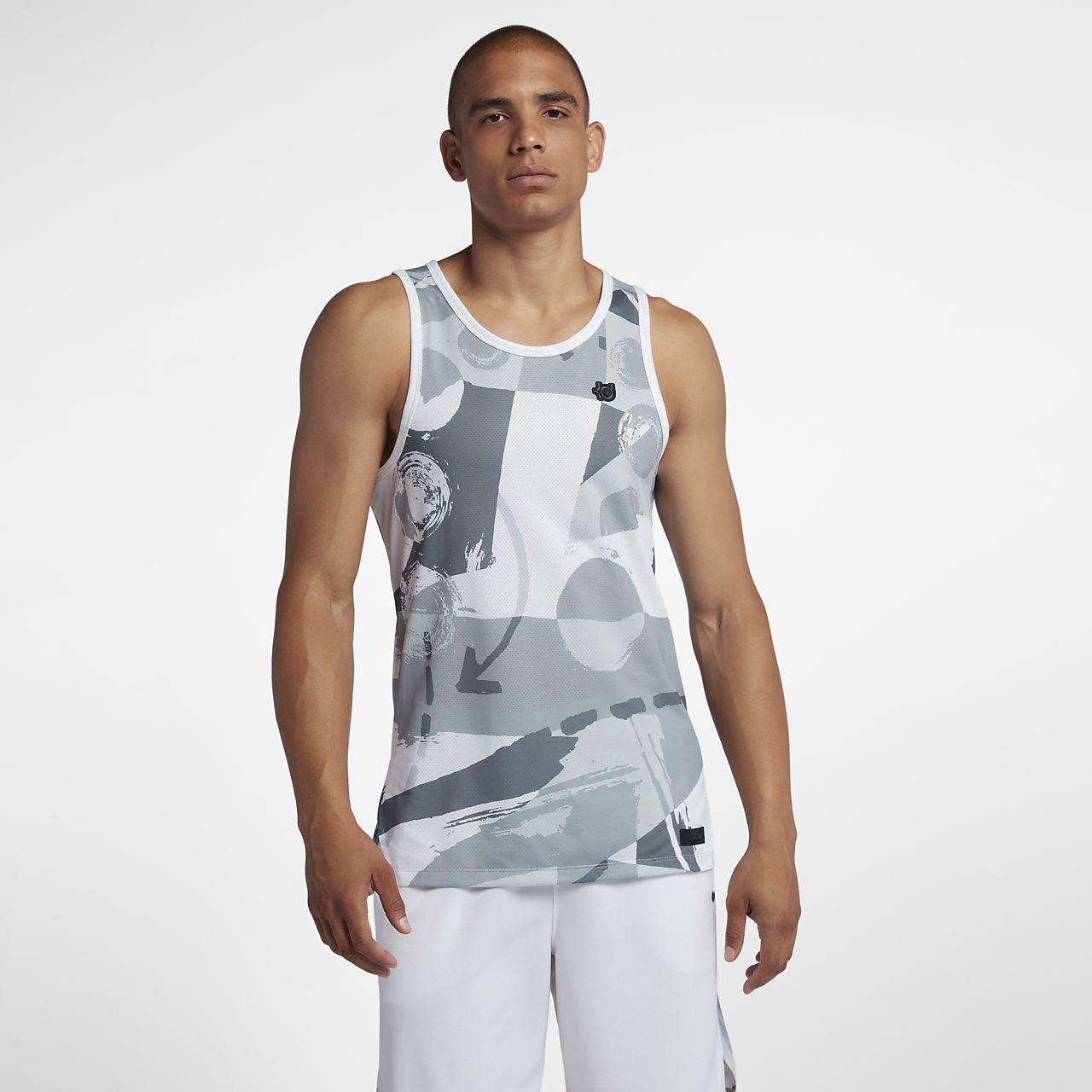Camisola de basquetebol sem mangas Nike KD Hyper Elite para homem