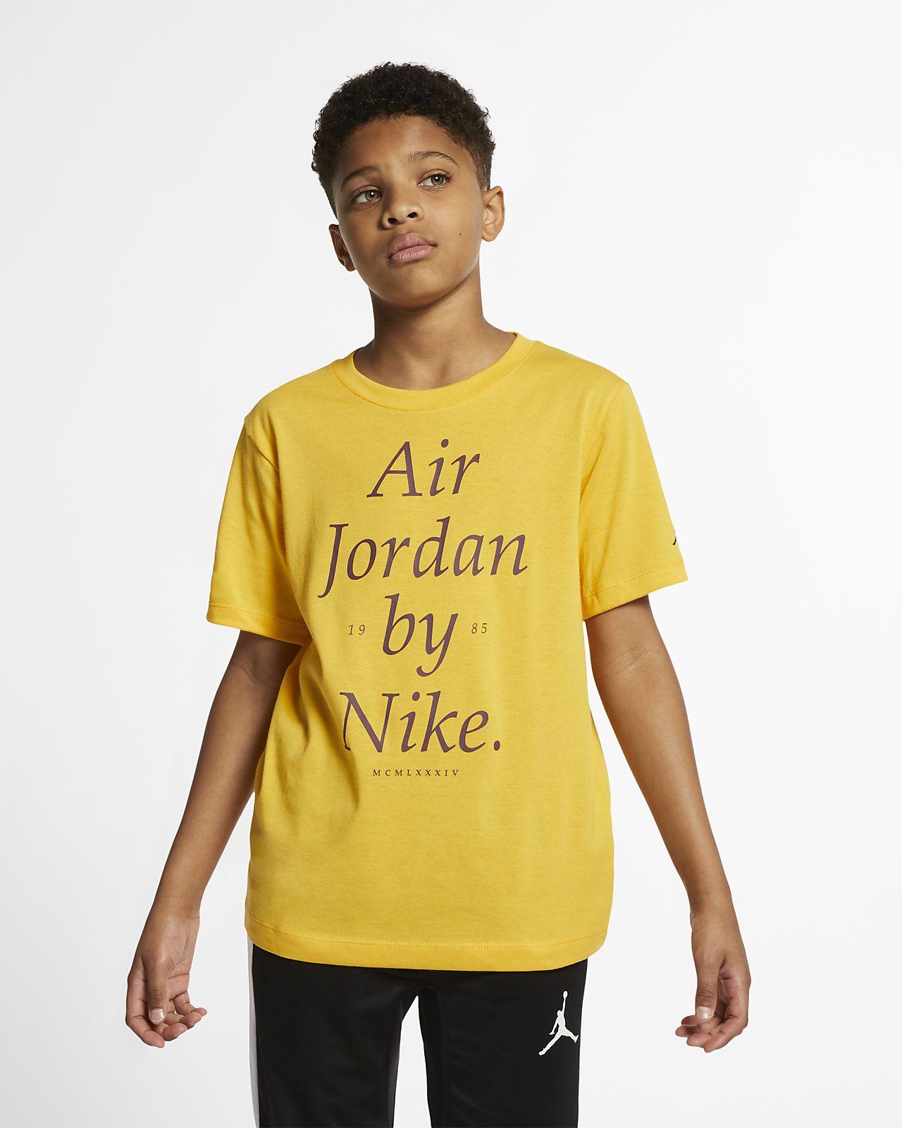 T-shirt dla dużych dzieci (chłopców) Jordan Sportswear
