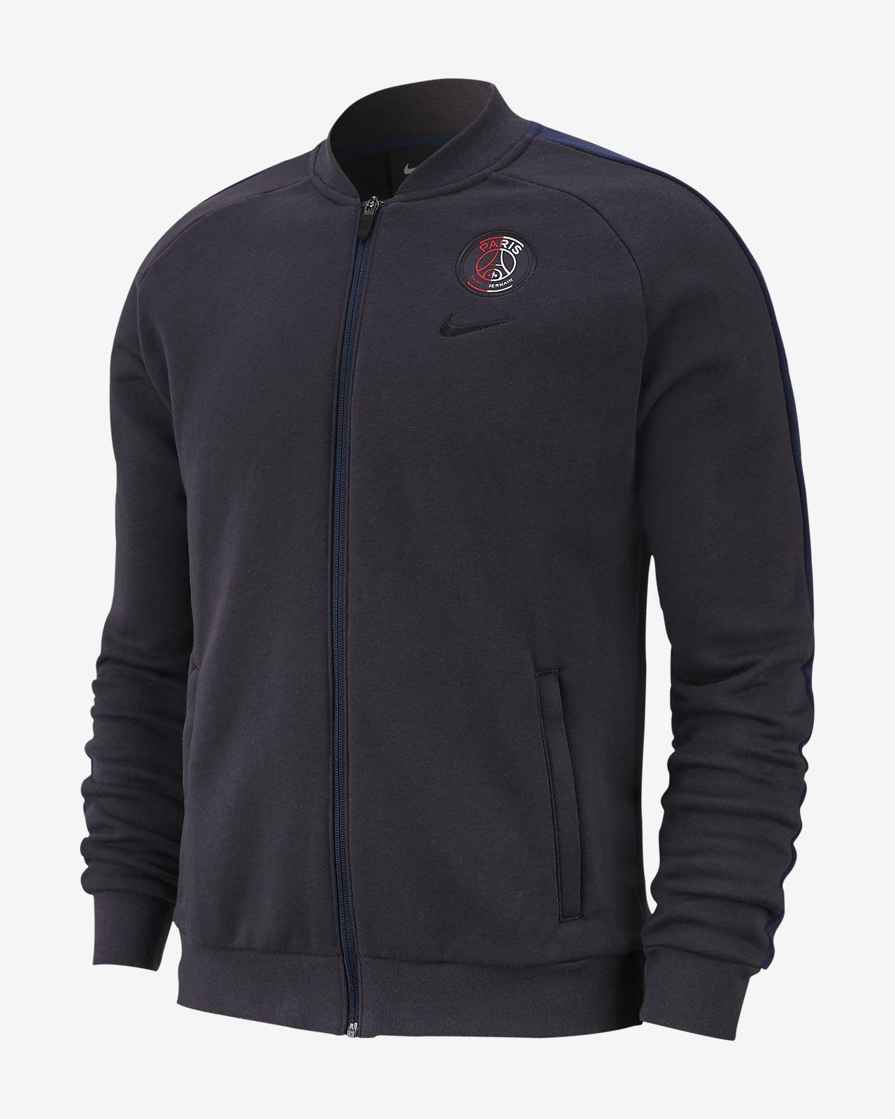 Paris Saint-Germain Men's Fleece Track Jacket