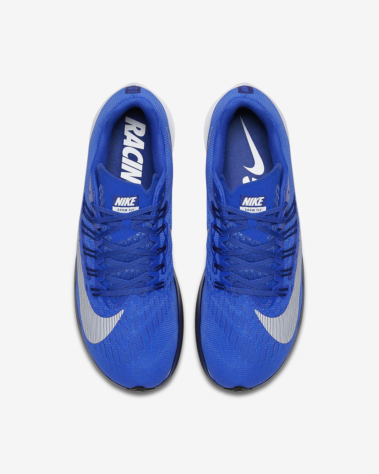 nike zoom fly royal blue