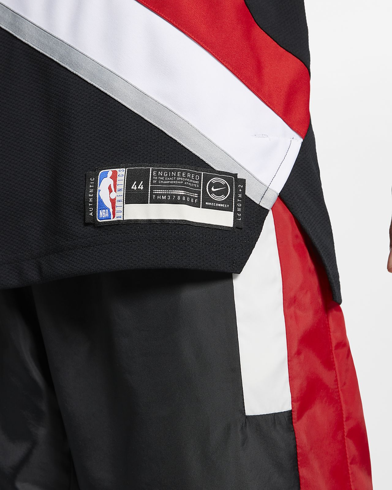 free shipping 94405 6c5f9 Damian Lillard Icon Edition Authentic (Portland Trail Blazers) Men's Nike  NBA Connected Jersey