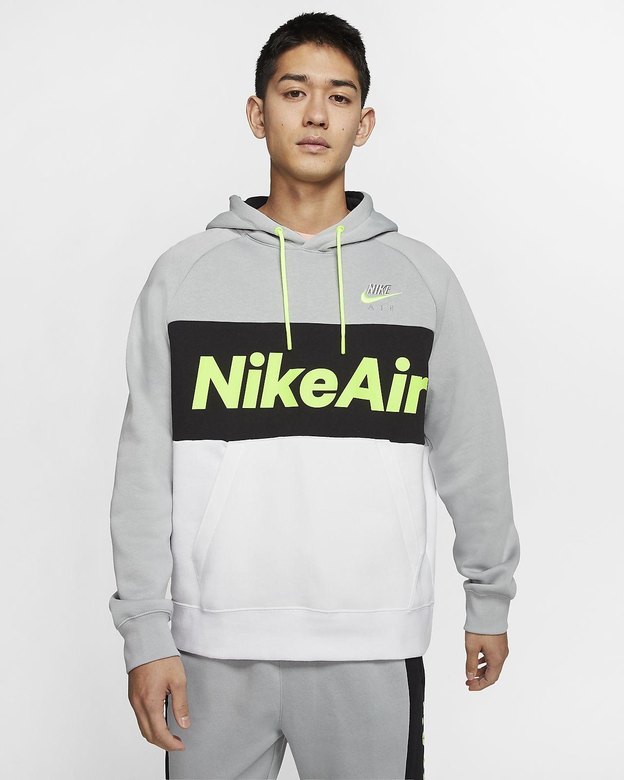 Pánská flísová mikina Nike Air s kapucí