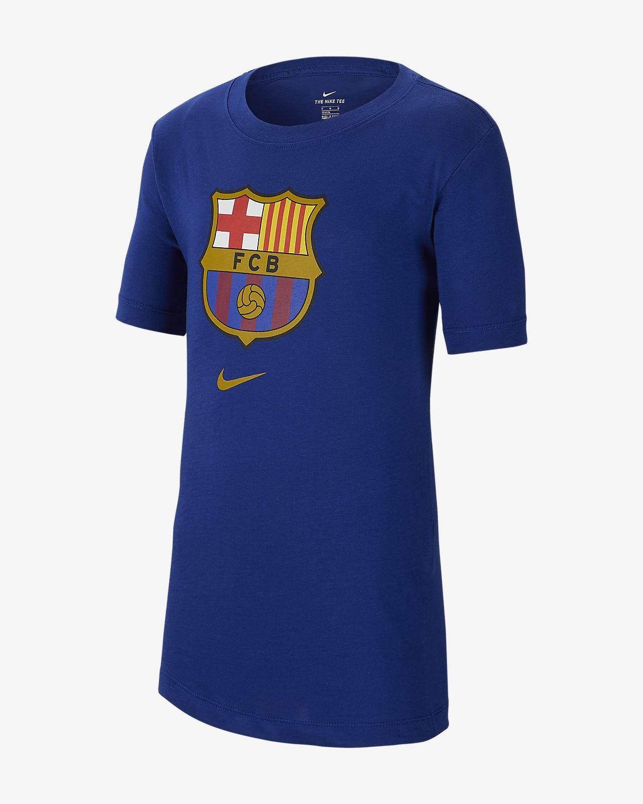 c7e704e7 FC Barcelona T-skjorte til store barn. Nike.com NO