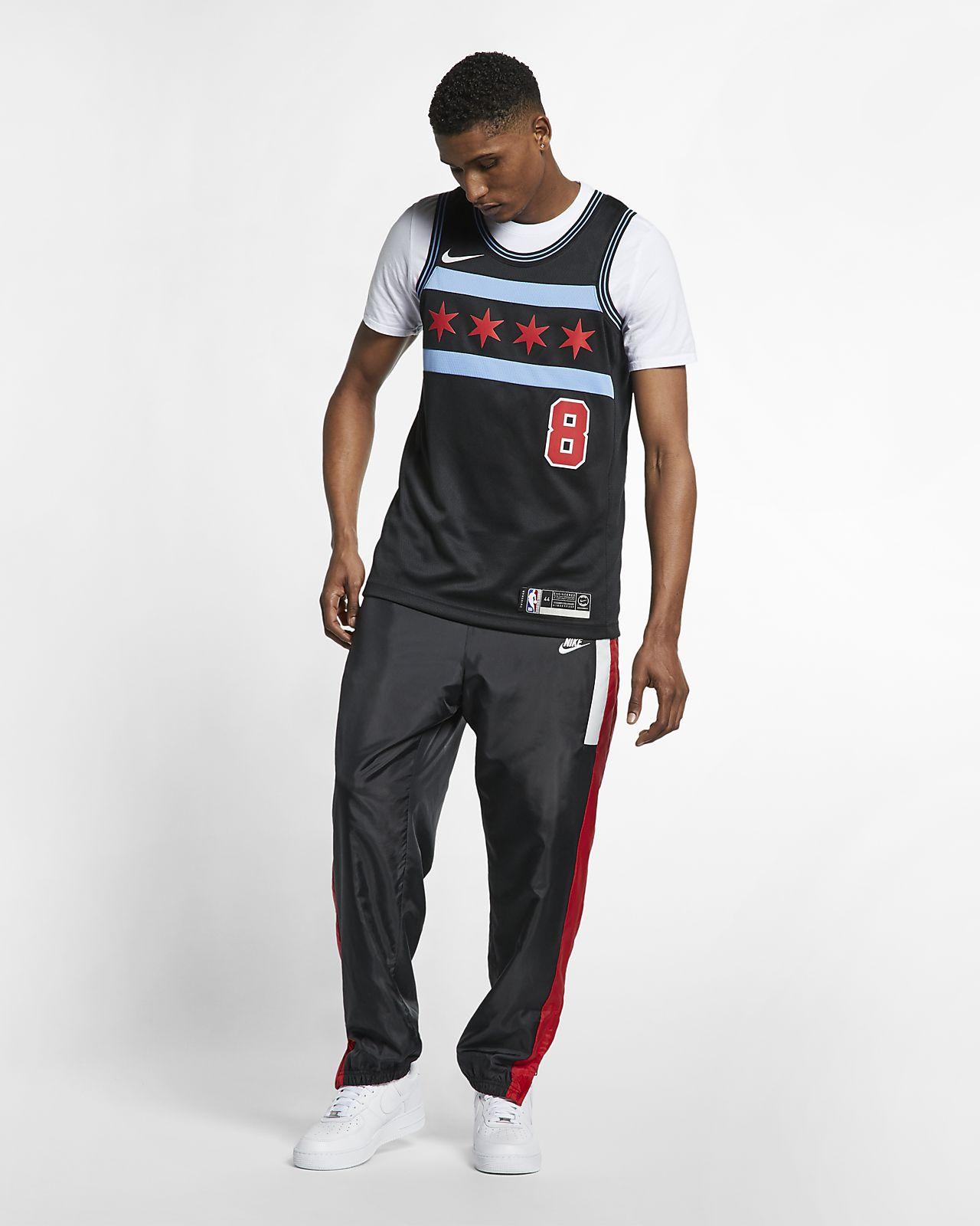 77afc3a7 ... Zach LaVine City Edition Swingman (Chicago Bulls) Men's Nike NBA  Connected Jersey