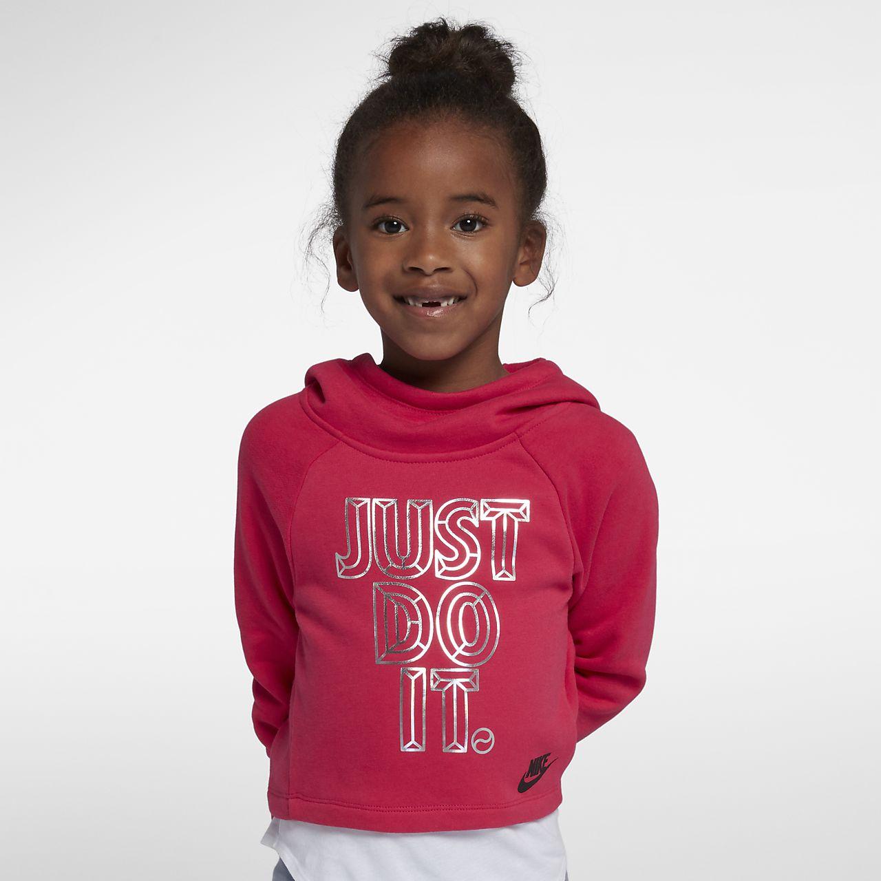 Nike Sportswear Dessuadora retallada amb caputxa - Nen/a petit/a