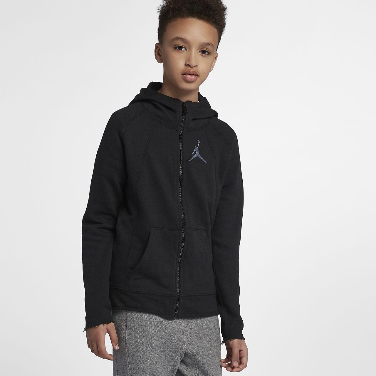 44e2c455d7 ... Jordan Sportswear Wings Lite Hoodie mit durchgehendem Reißverschluss  für ältere Kinder (Jungen)