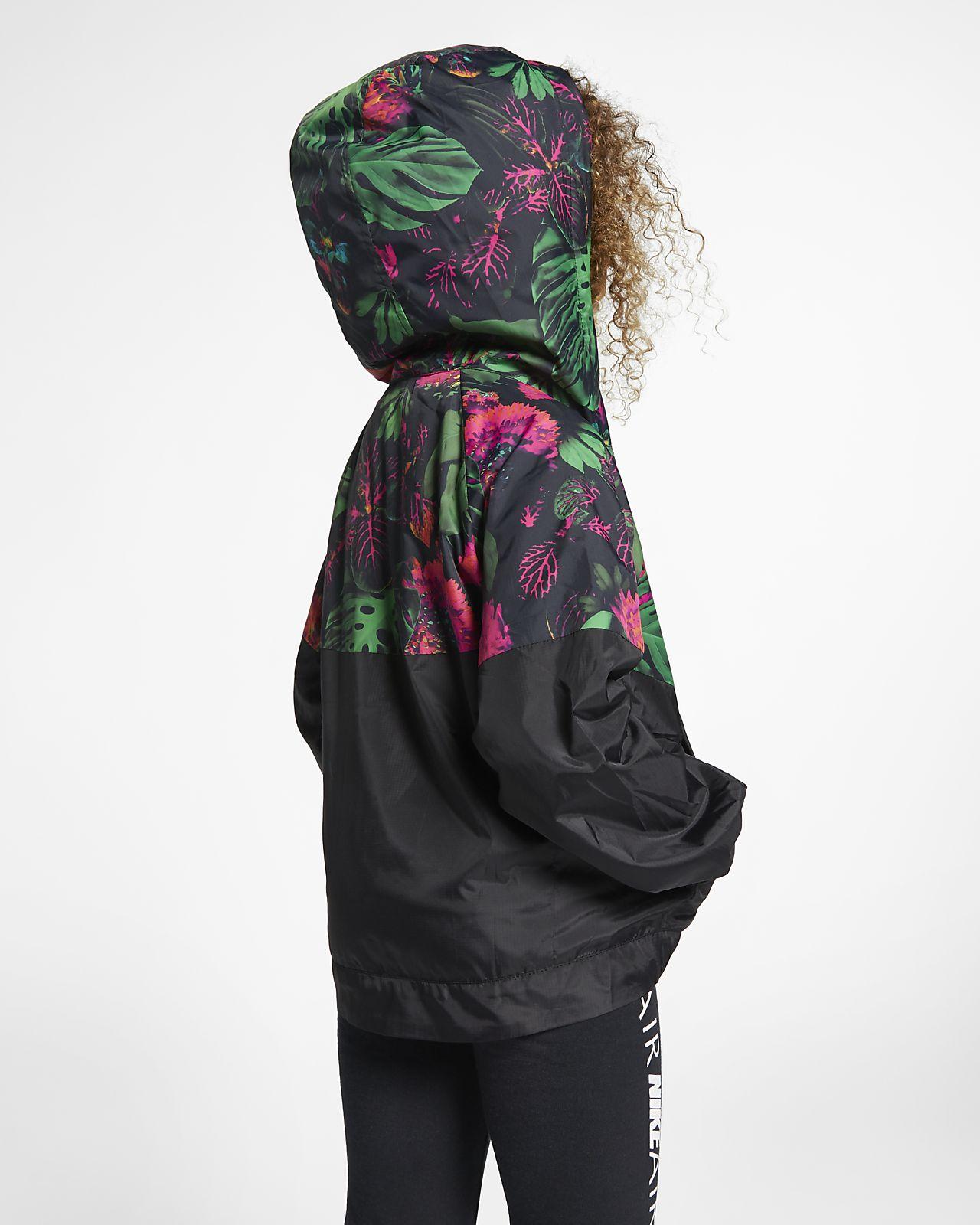 c067c7cb111 Nike Sportswear Windrunner Little Kids' Floral Jacket. Nike.com