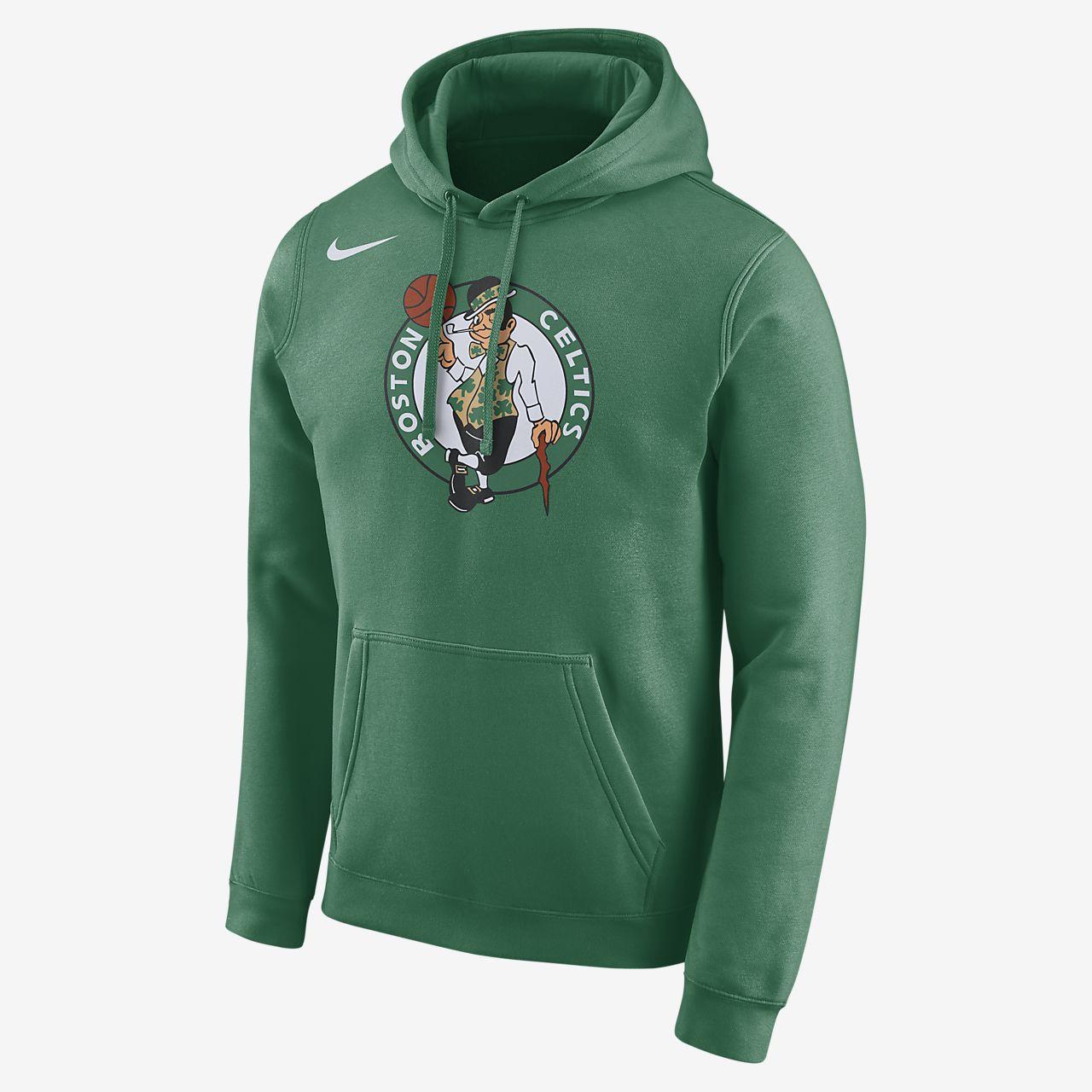 super popular 62a09 ee0c3 Boston Celtics Nike Men's Logo NBA Hoodie