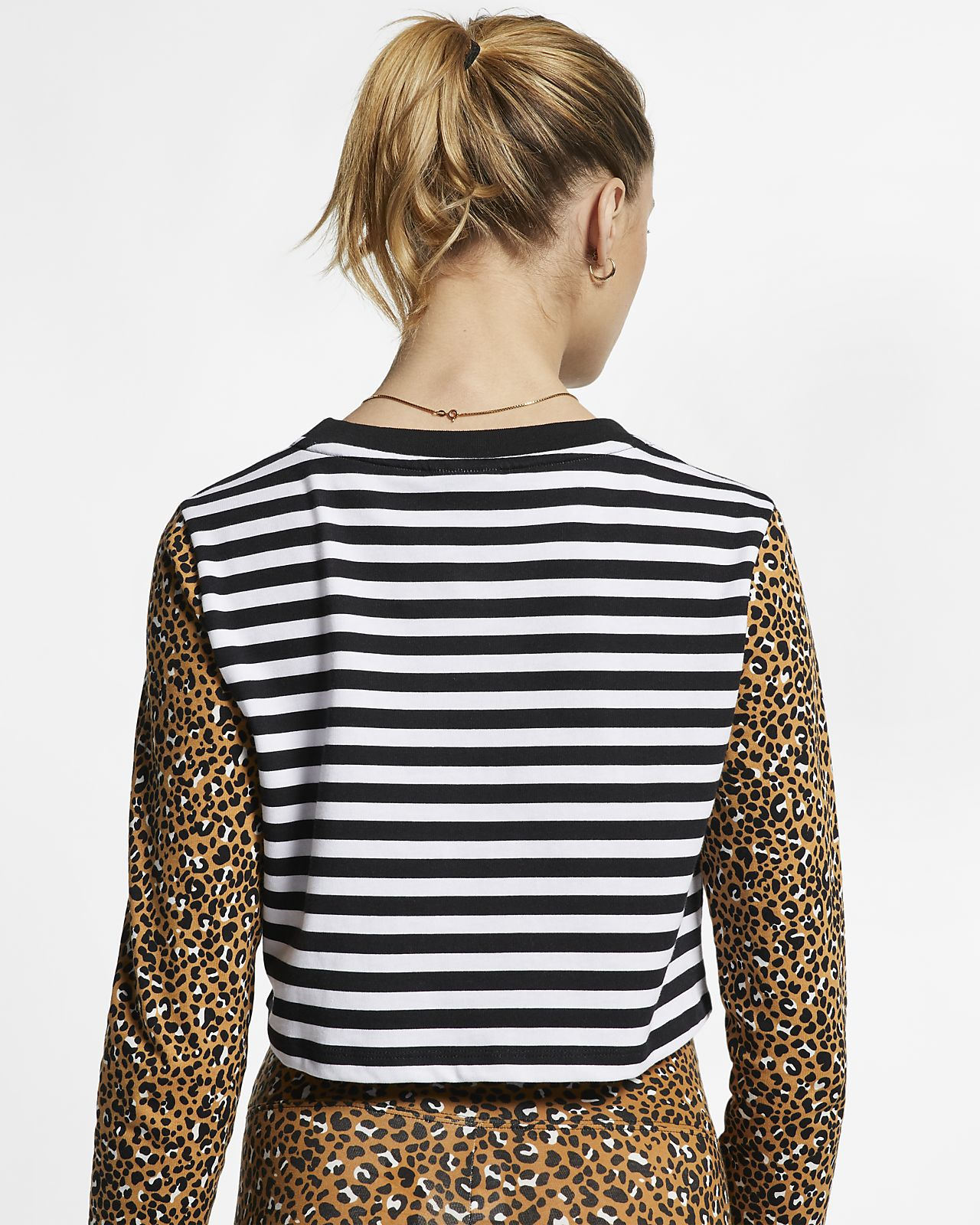 75df0df5 Nike Sportswear Animal Print Women's Long-Sleeve Top. Nike.com GB