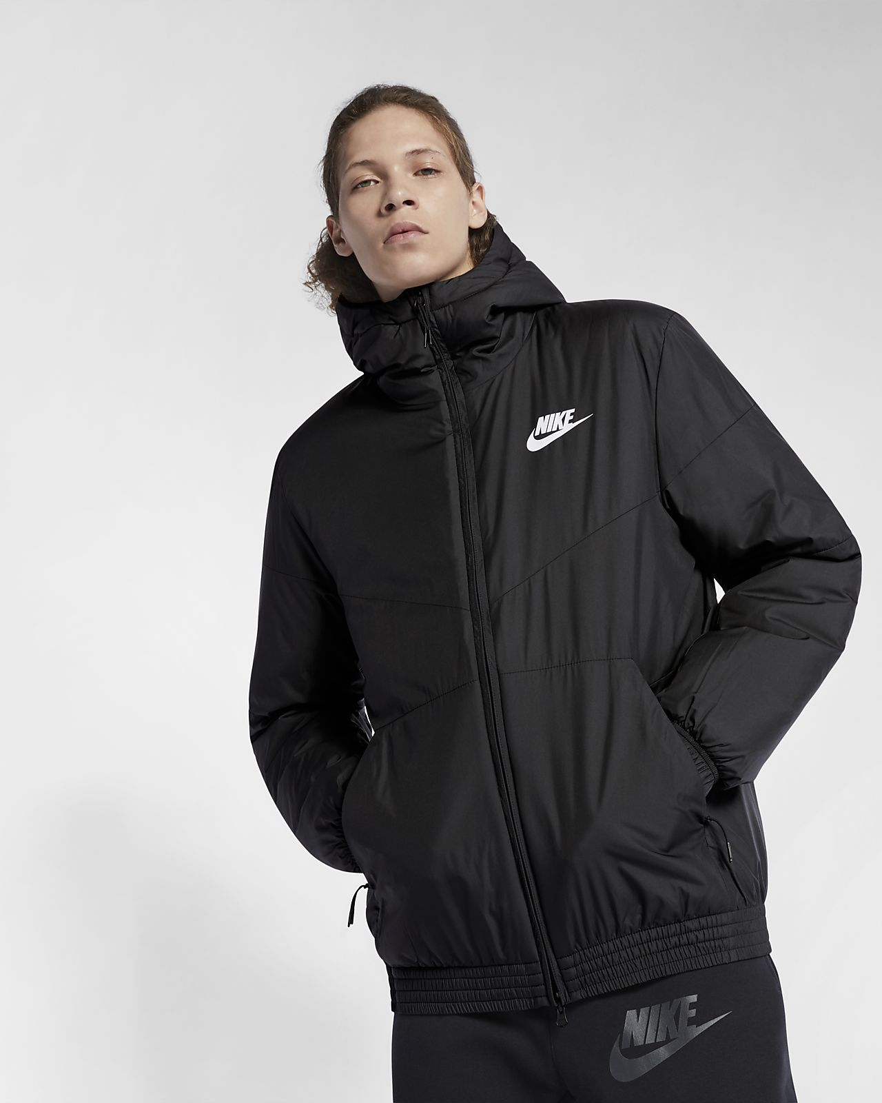 Nike Sportswear Synthetic Fill 男子连帽夹克