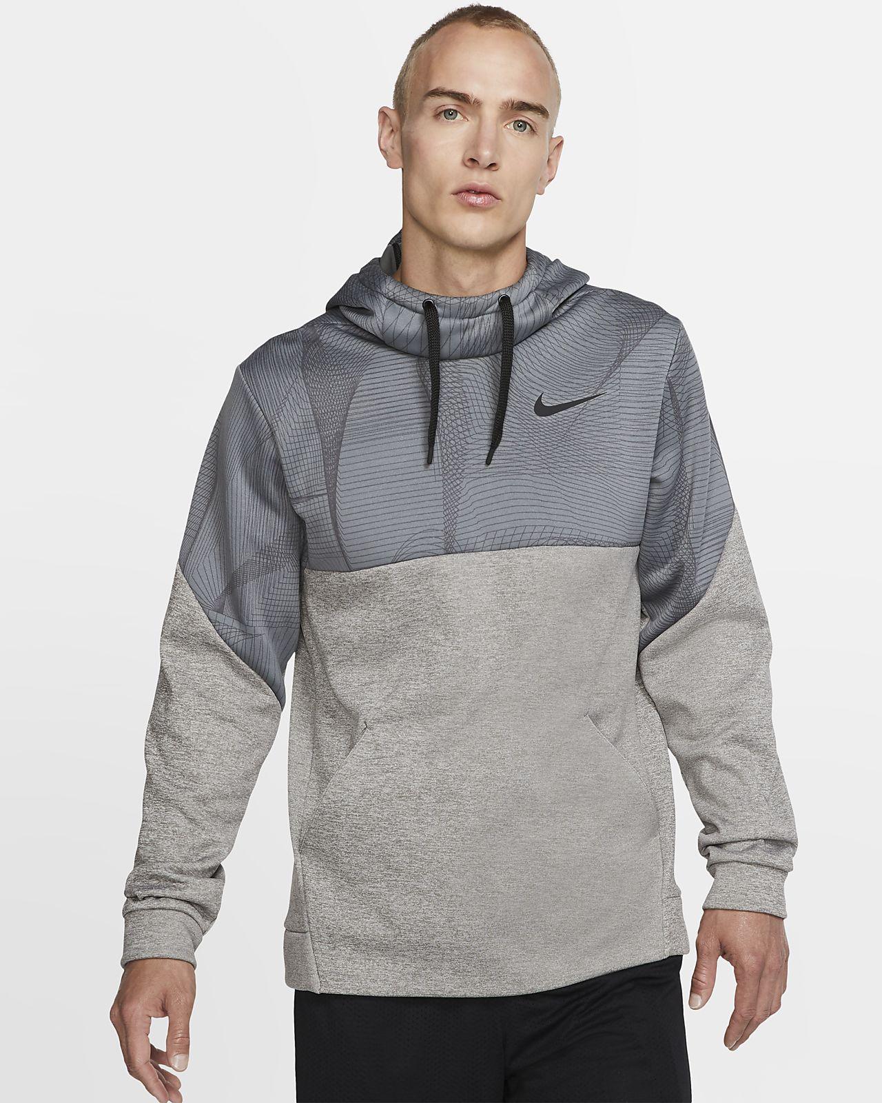 Felpa pullover da training in fleece con cappuccio Nike Therma - Uomo