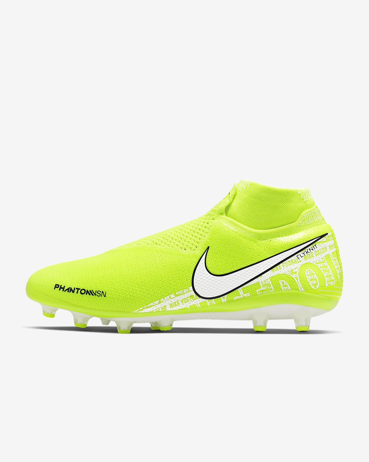 Chaussure de football à crampons pour terrain synthétique Nike Phantom Vision Elite Dynamic Fit
