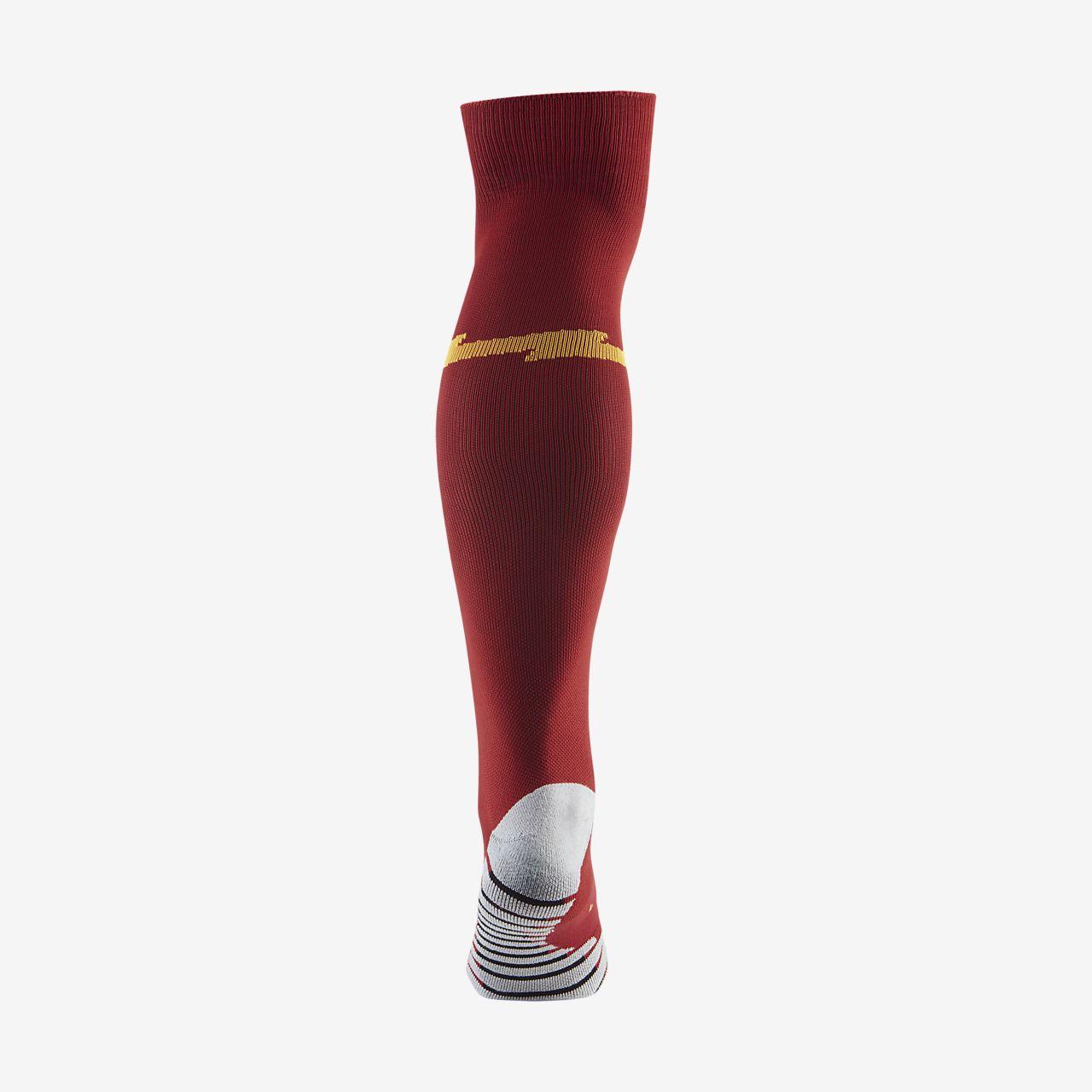 acbc9671a3b A.S. Roma 2019 Stadium Home Away Over-the-Calf Football Socks. Nike ...