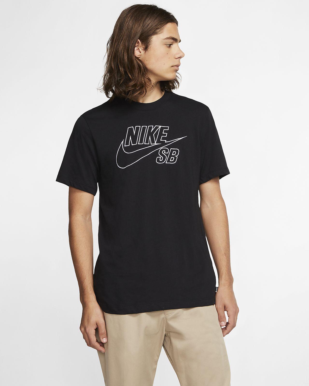 T shirt da skateboard con logo Nike SB Uomo