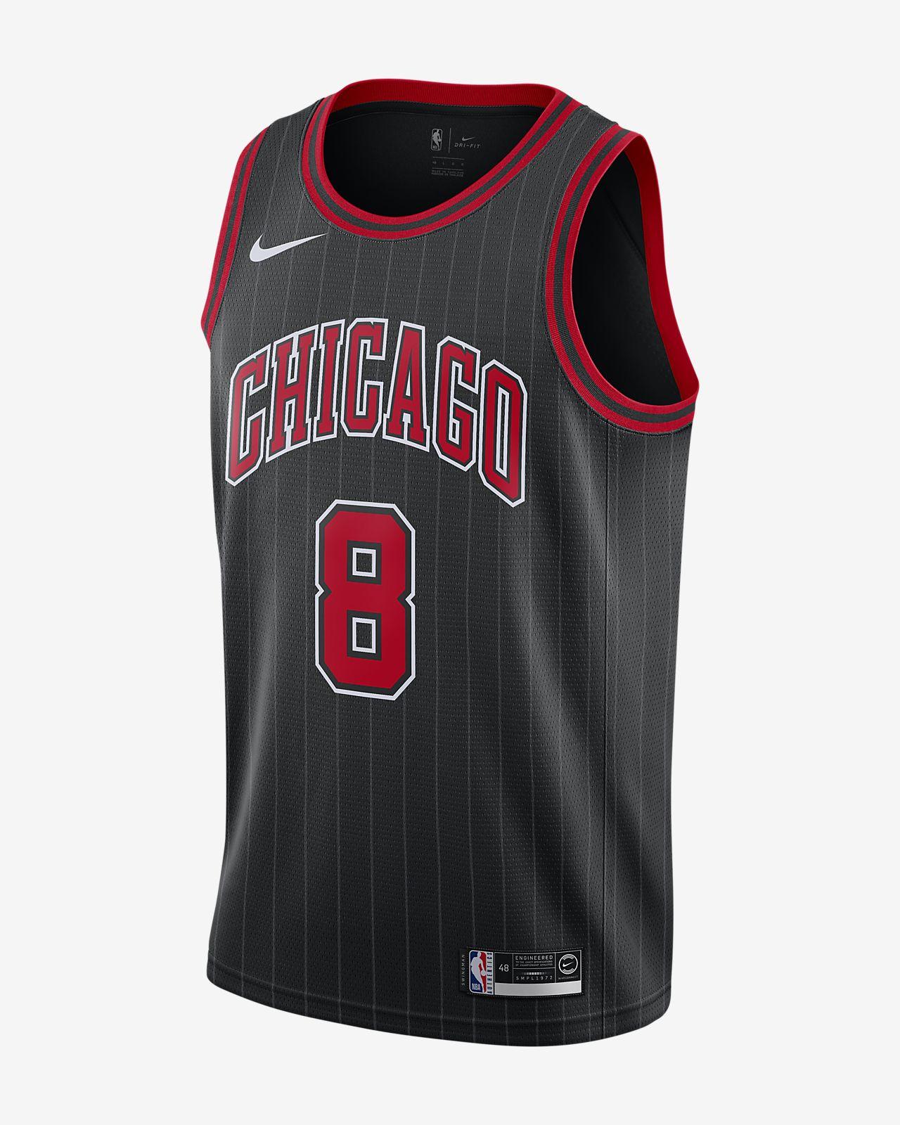 Zach LaVine Bulls Statement Edition Nike NBA Swingman Jersey