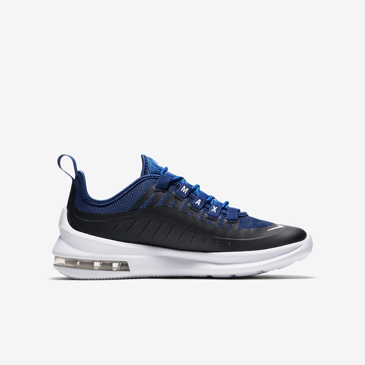 Nike Axe Air Max - Noir / Blanc 3SberH