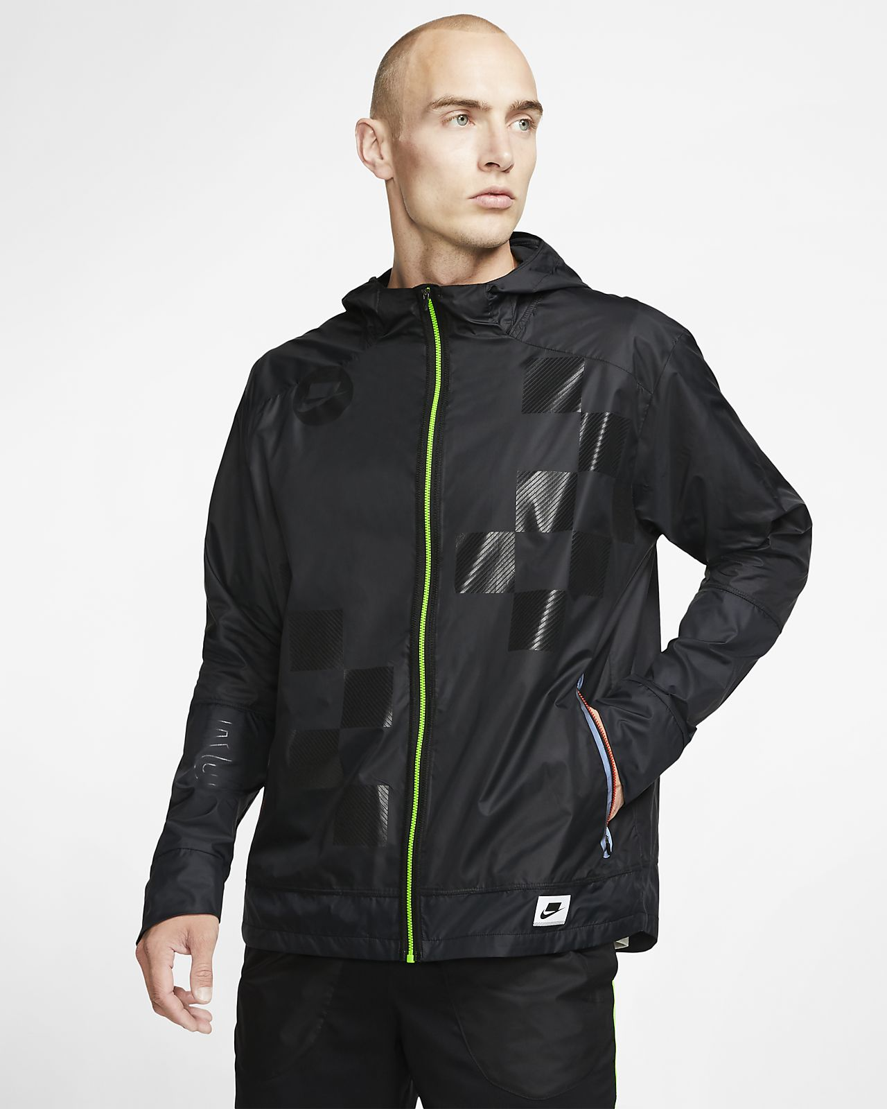 Nike Shield Flash 男子跑步夹克