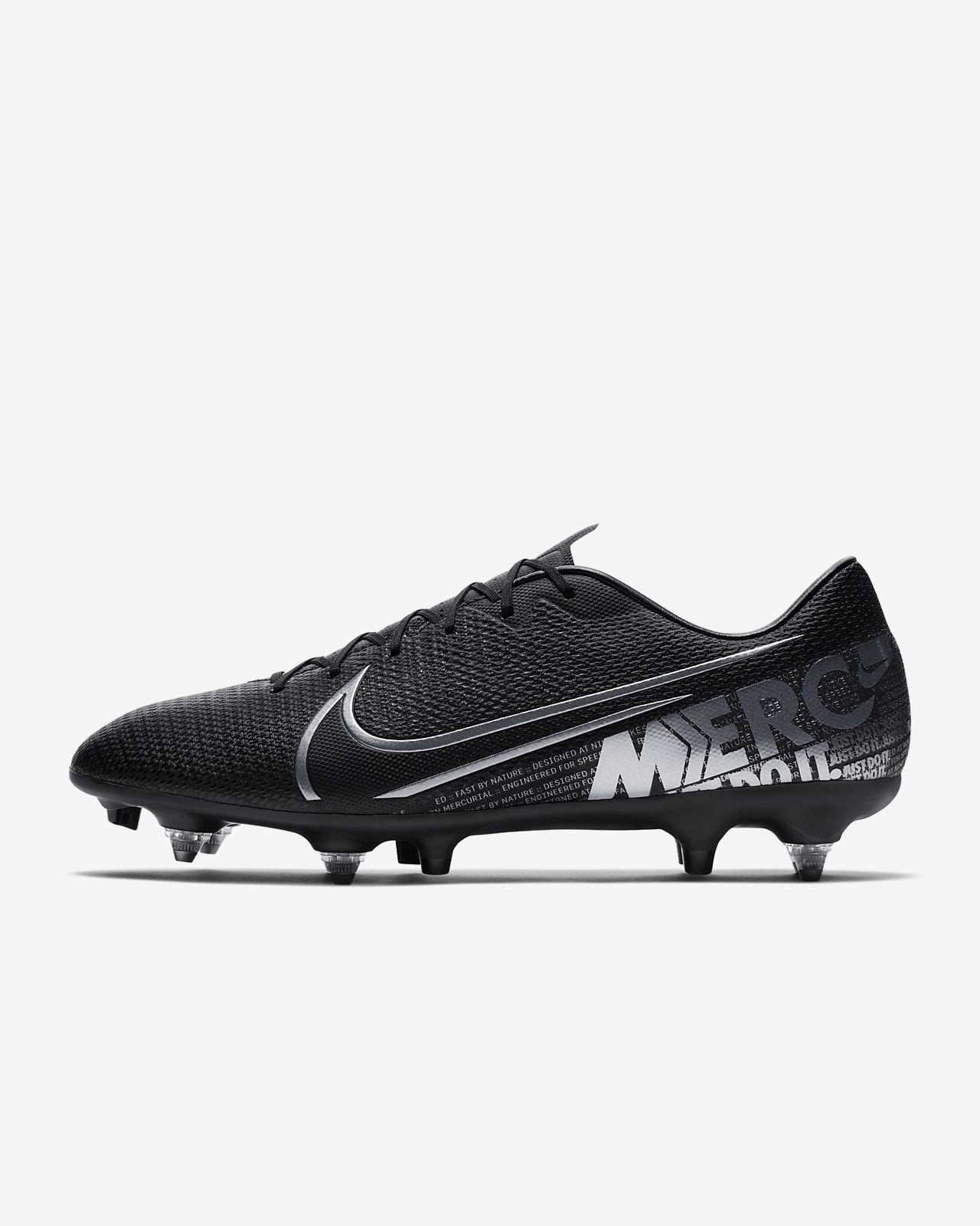quality products offer discounts low priced Chaussure de football à crampons pour terrain gras Nike Mercurial Vapor 13  Academy SG-PRO Anti-Clog Traction