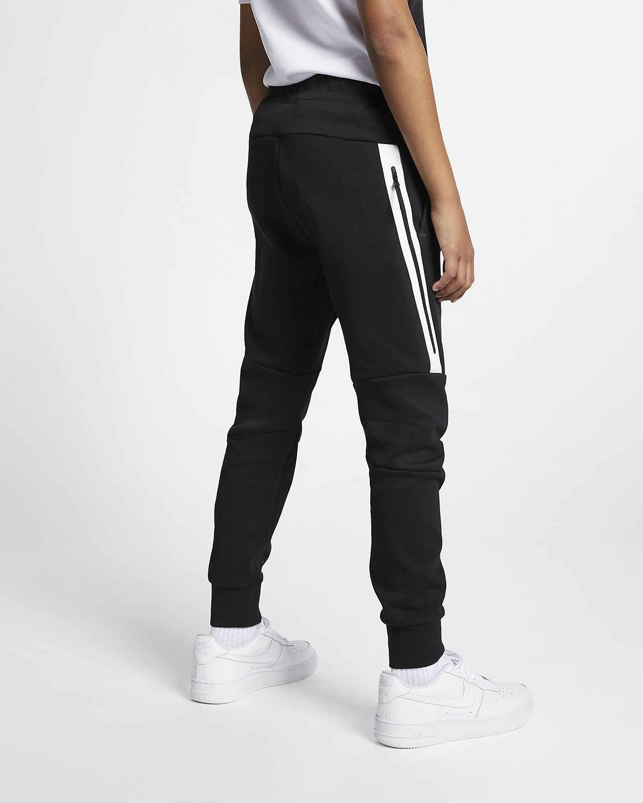 ef4091c33 Nike Sportswear tech-fleecebukse til store barn
