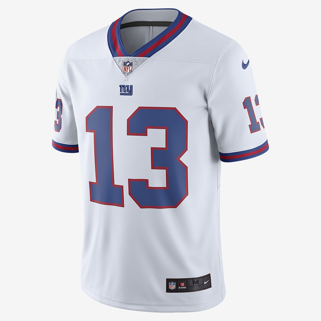 99aa1ec98 ... Camisola de jogo de futebol americano NFL New York Giants Color Rush  Limited (Odell Beckham