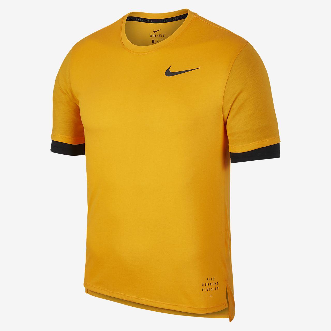 af40d2b3fc46 Pánské běžecké tričko Nike Run Division Rise 365 s krátkým rukávem ...