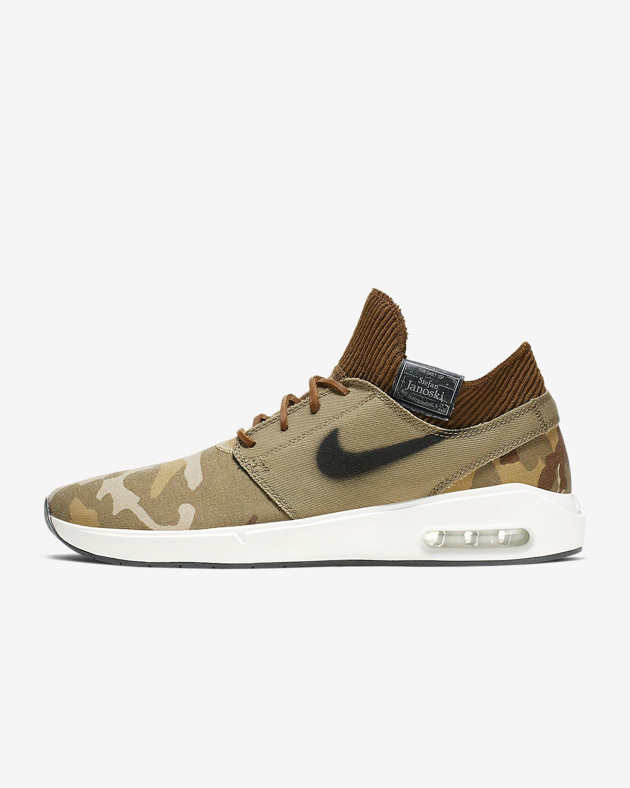 świetna jakość wyprzedaż hurtowa klasyczny styl Nike SB Air Max Stefan Janoski 2 Premium Men's Skate Shoe