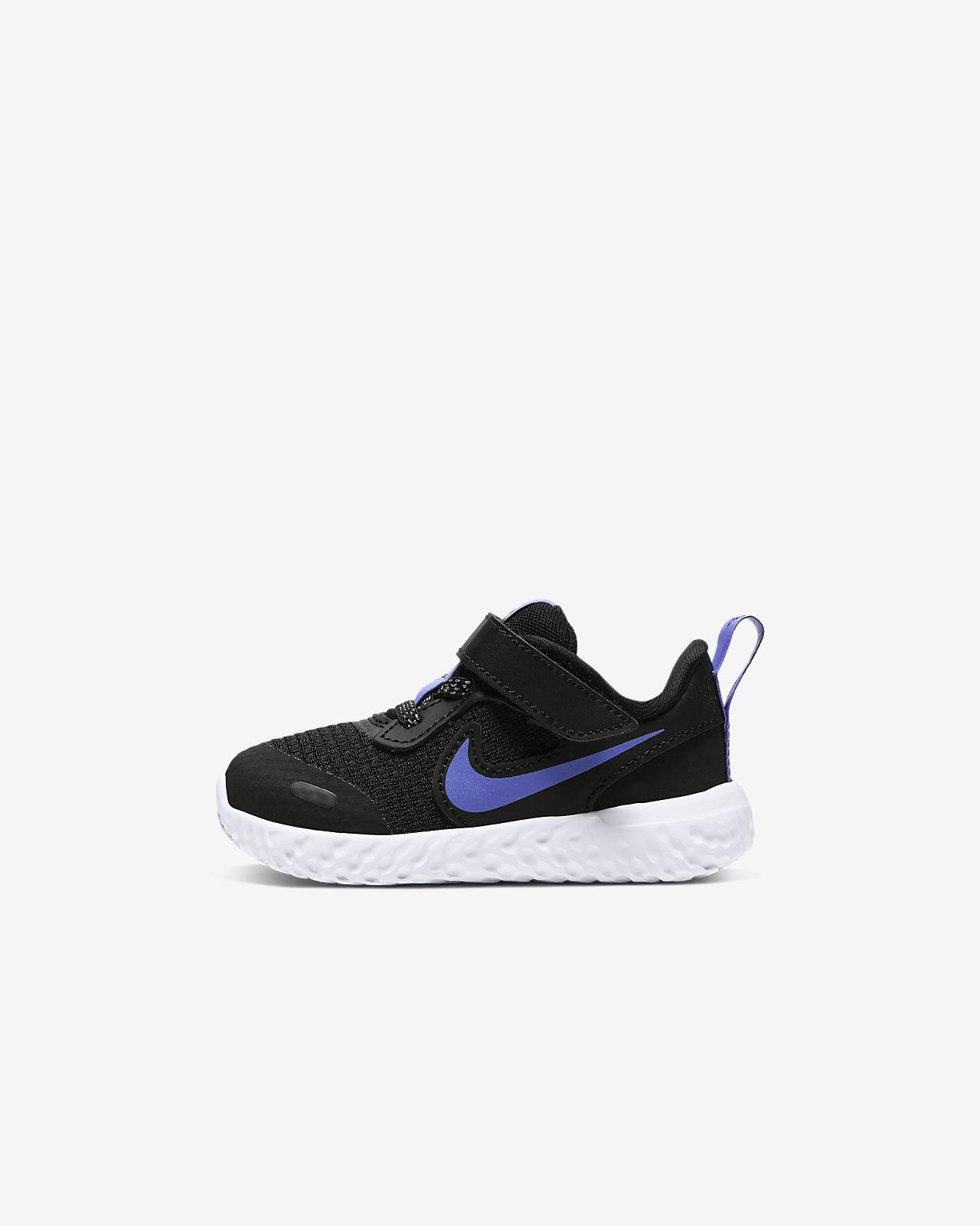 Nike Revolution 5 Glitter Baby/Toddler Shoe