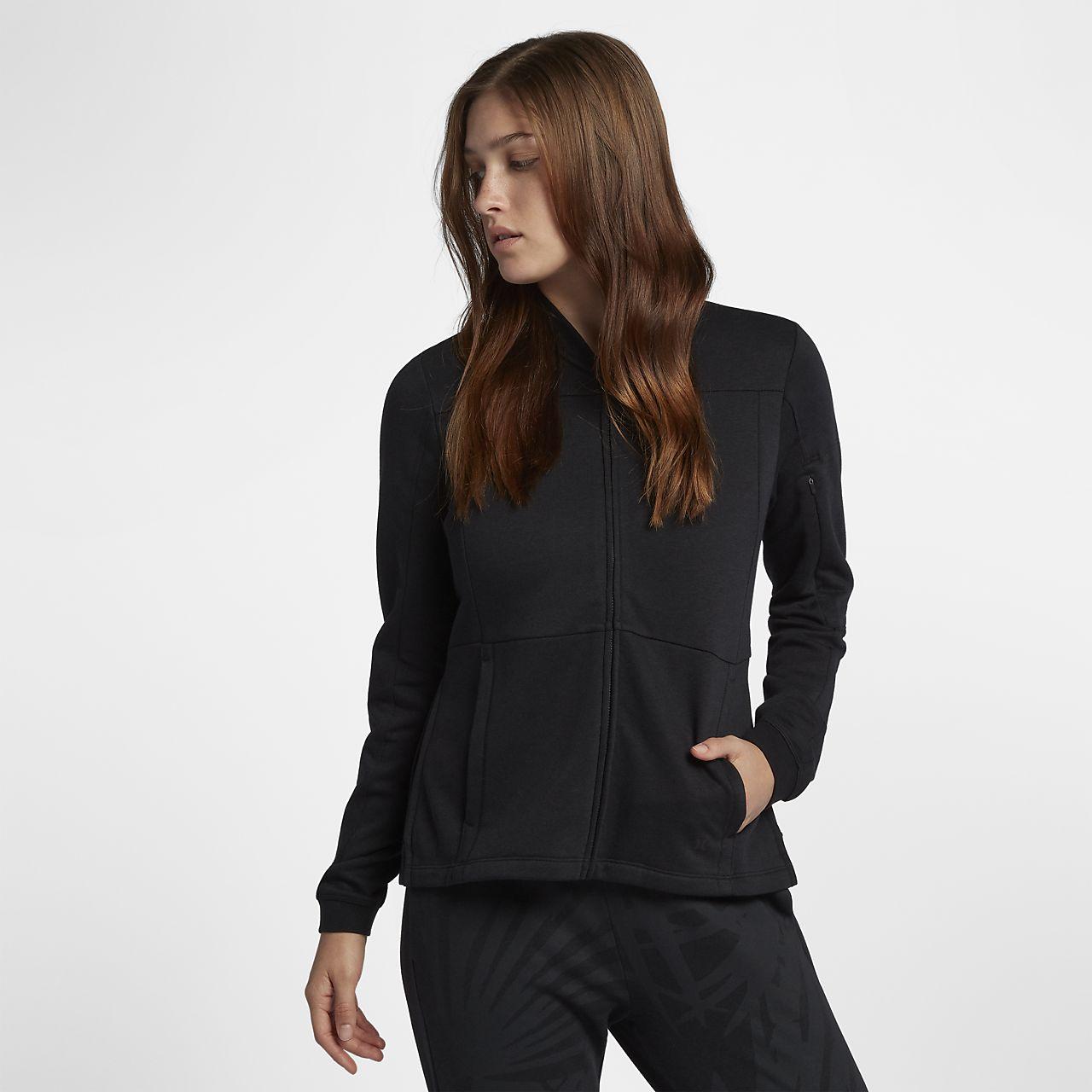 3073fa389162 Hurley Palmer Bomber Women s Fleece Jacket. Nike.com AU