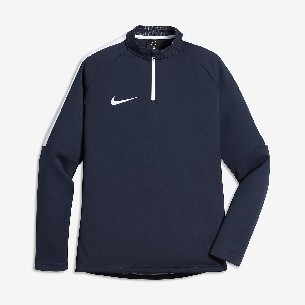 Nike Dri-FIT fotballtreningsoverdel for store barn