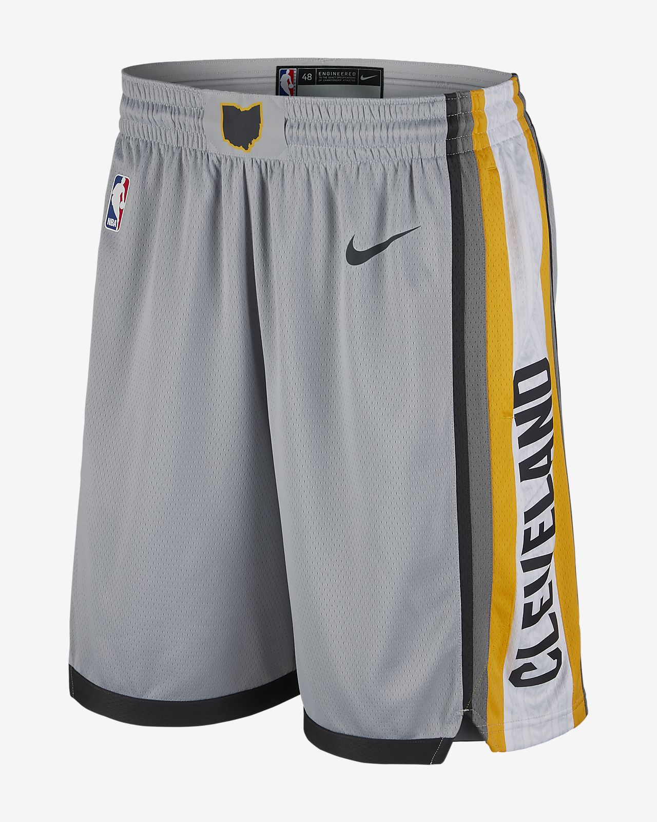 3102caf925f Cleveland Cavaliers Nike City Edition Swingman Men s NBA Shorts ...