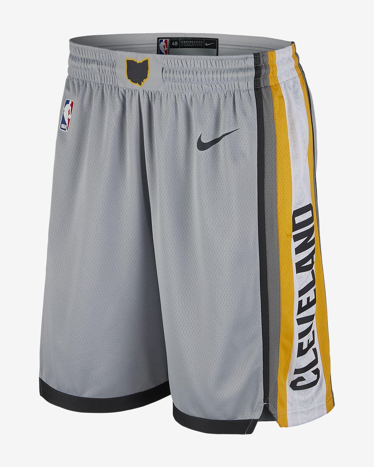 f7b51aef19d7 Cleveland Cavaliers Nike City Edition Swingman Men s NBA Shorts ...