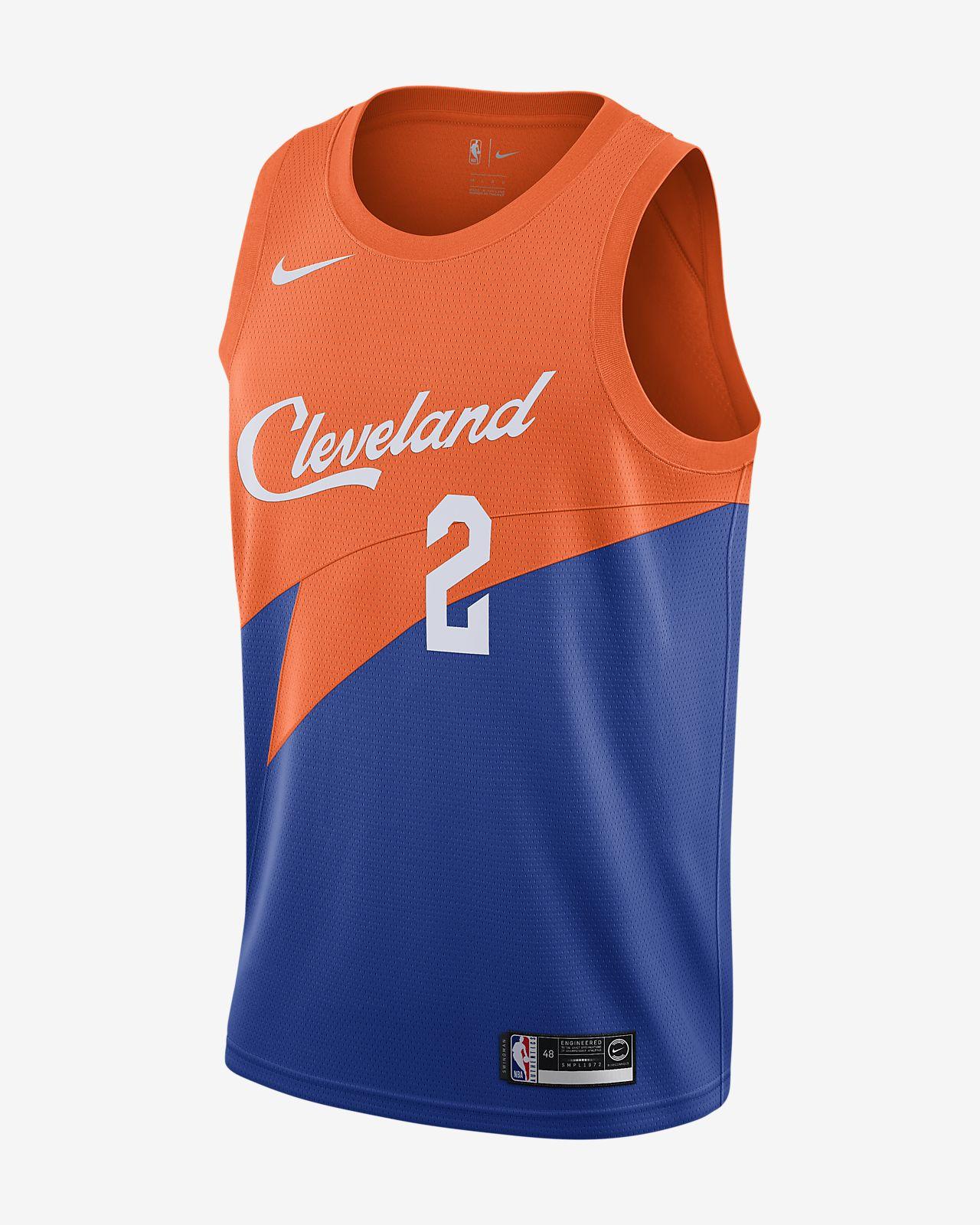 Camiseta conectada Nike NBA para hombre Collin Sexton City Edition Swingman (Cleveland Cavaliers)
