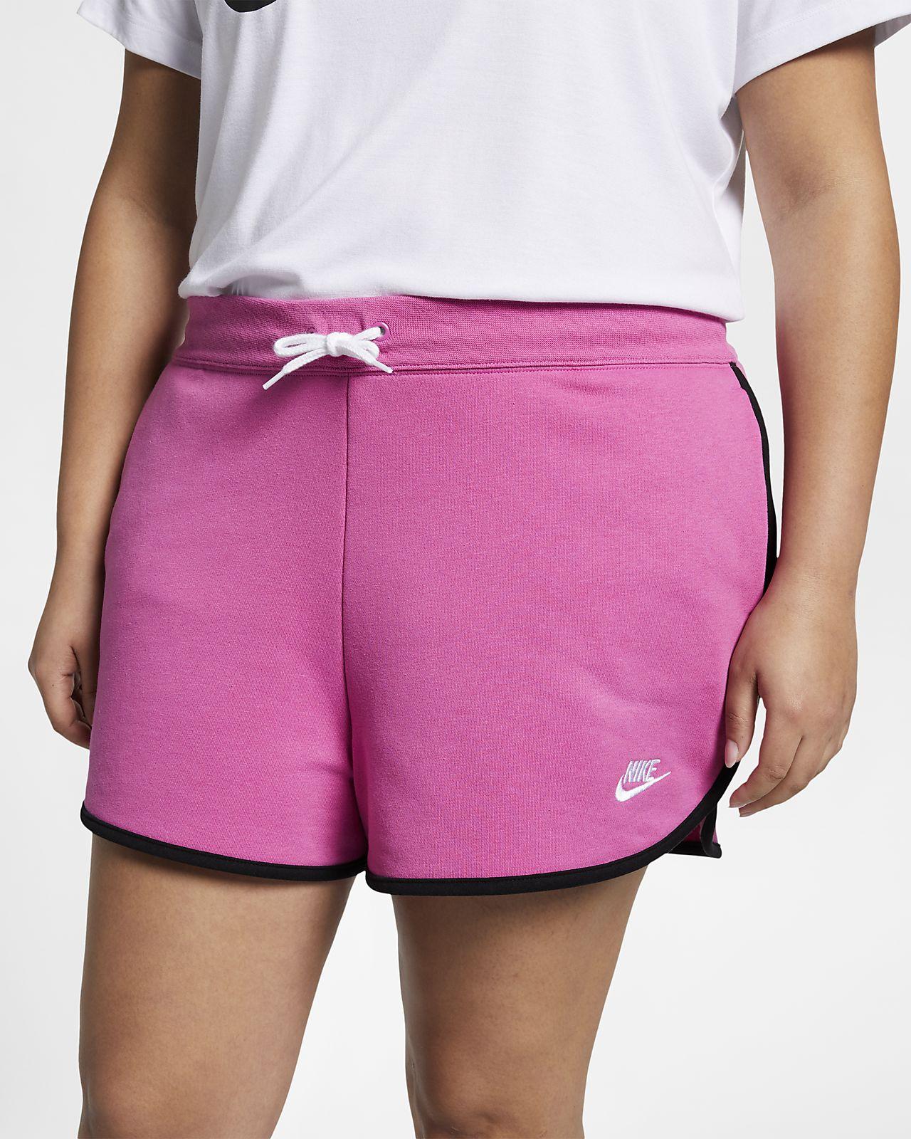 d3f929bae Nike Sportswear Heritage Women's Fleece Shorts (Plus Size). Nike.com