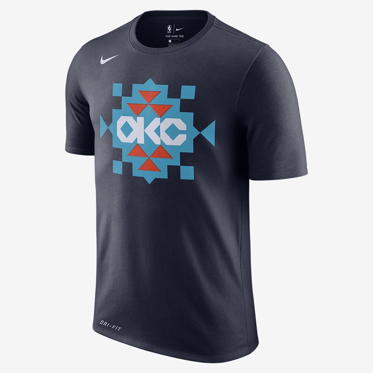 Oklahoma City Thunder City Edition Nike Dri-FIT Men's NBA T-Shirt