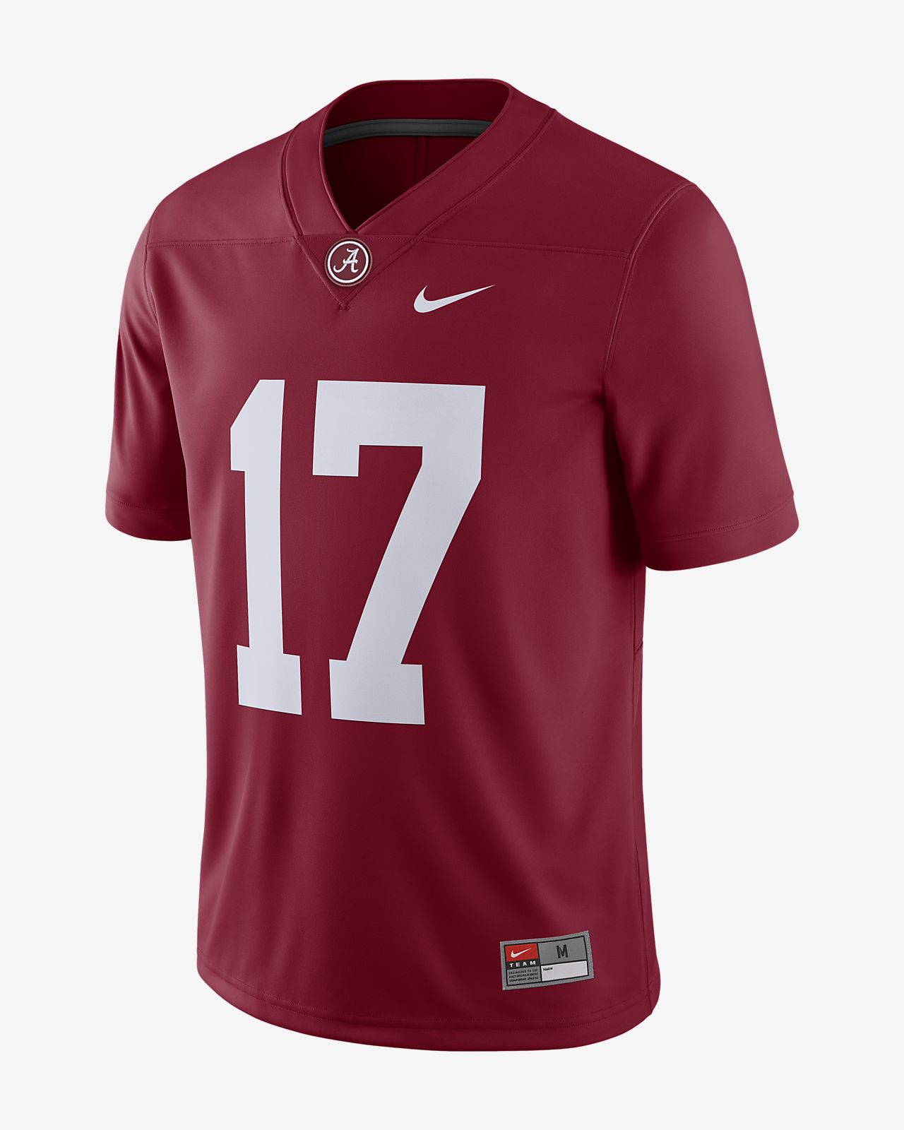 Nike College Game (Alabama) Men's Football Jersey