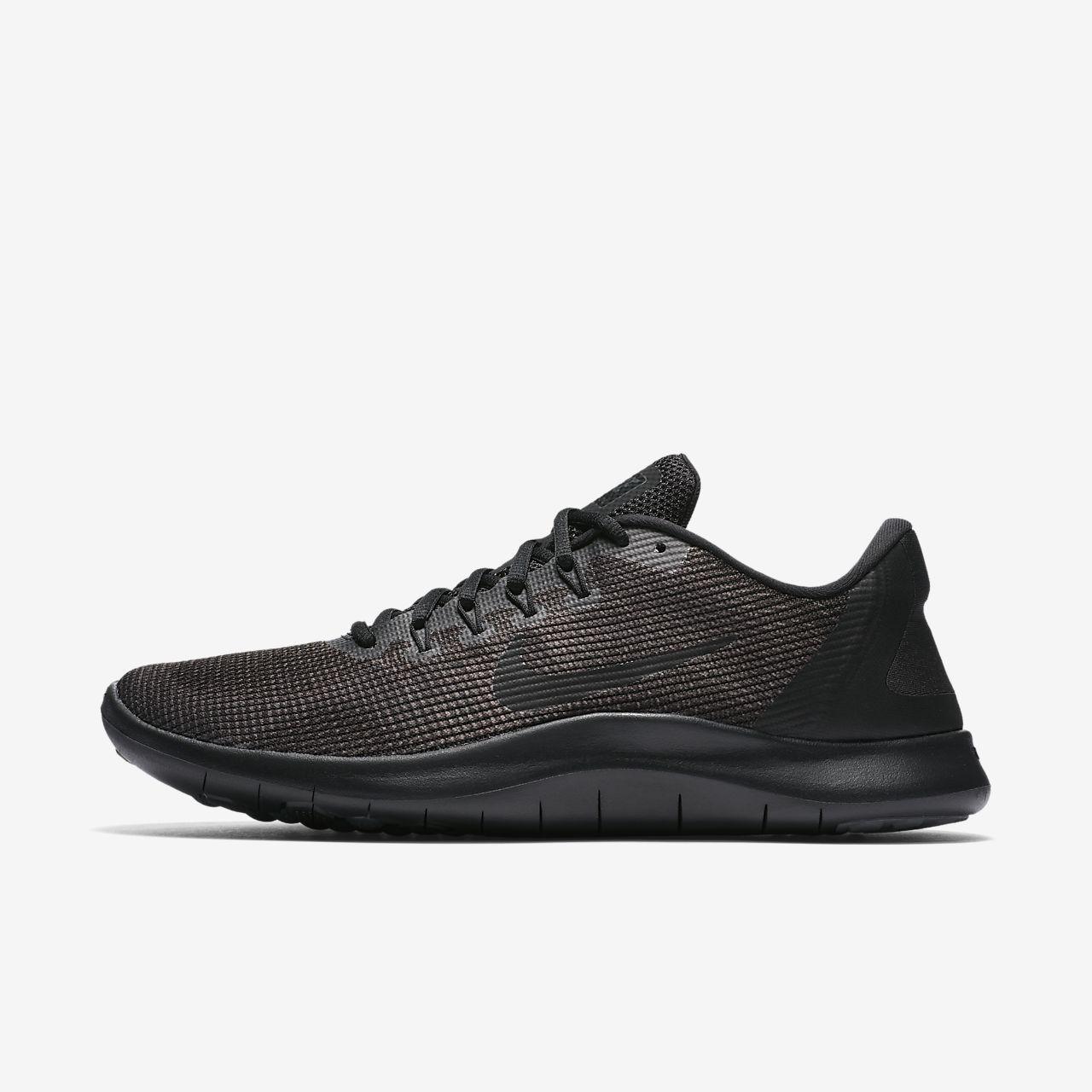 Nike WMNS Free RN 2018, Chaussures de Running Femme - Blanc (Blanc/Noir 100), 40 EU