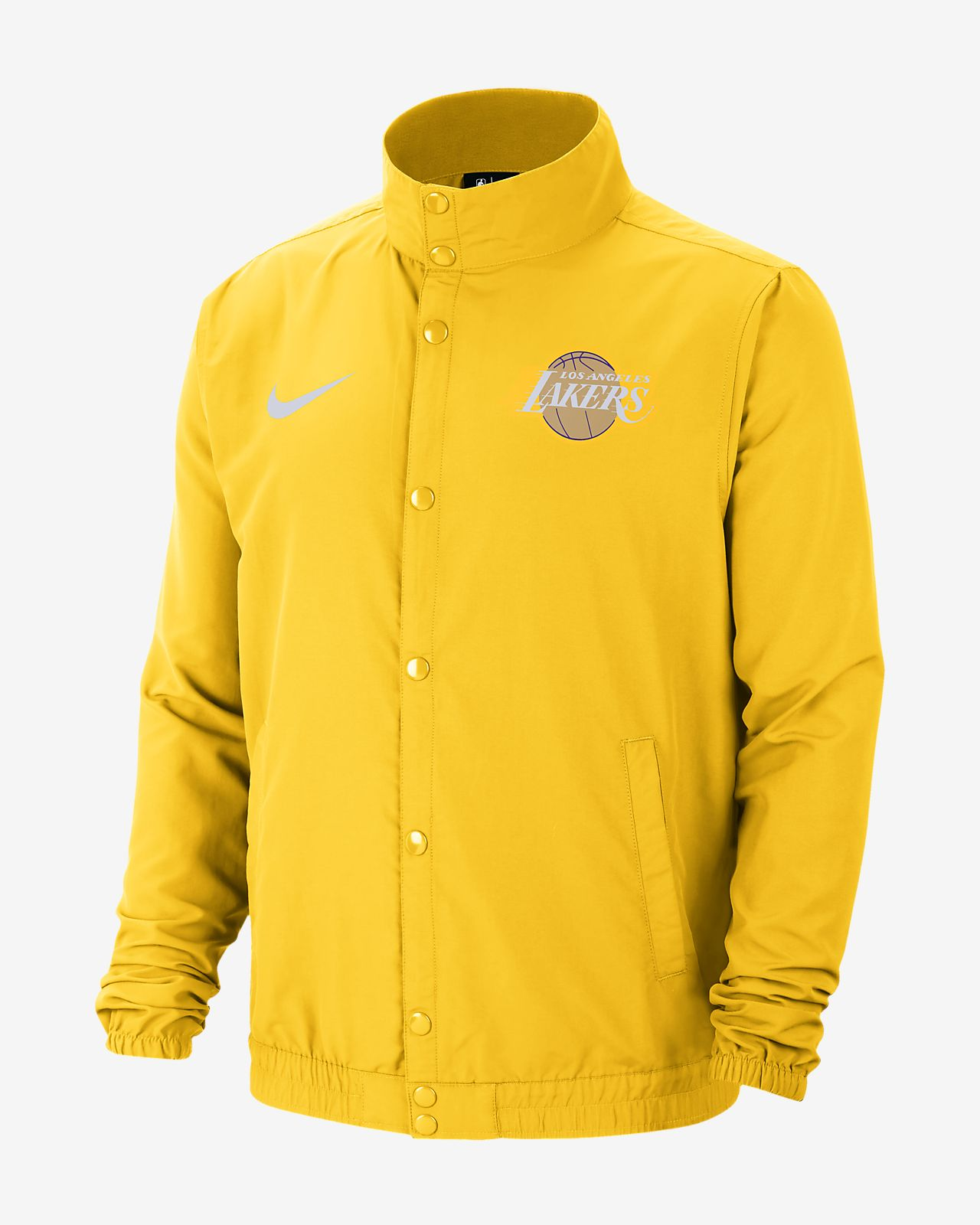 Lakers City Edition Men's Nike NBA Jacket. Nike MY