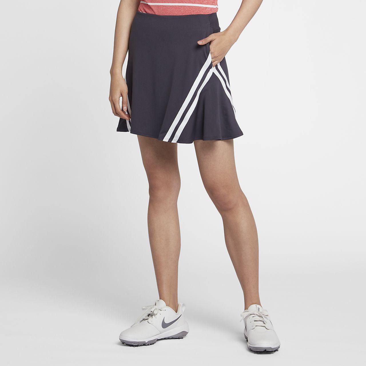 "Nike Dri-FIT UV 17"" 女子高尔夫短裙"
