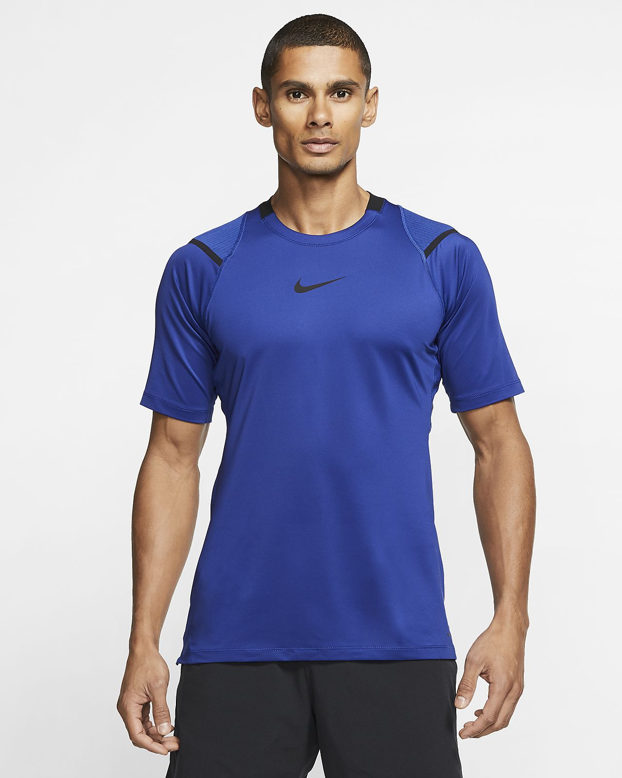 Nike Pro AeroAdapt Men's Short Sleeve Top