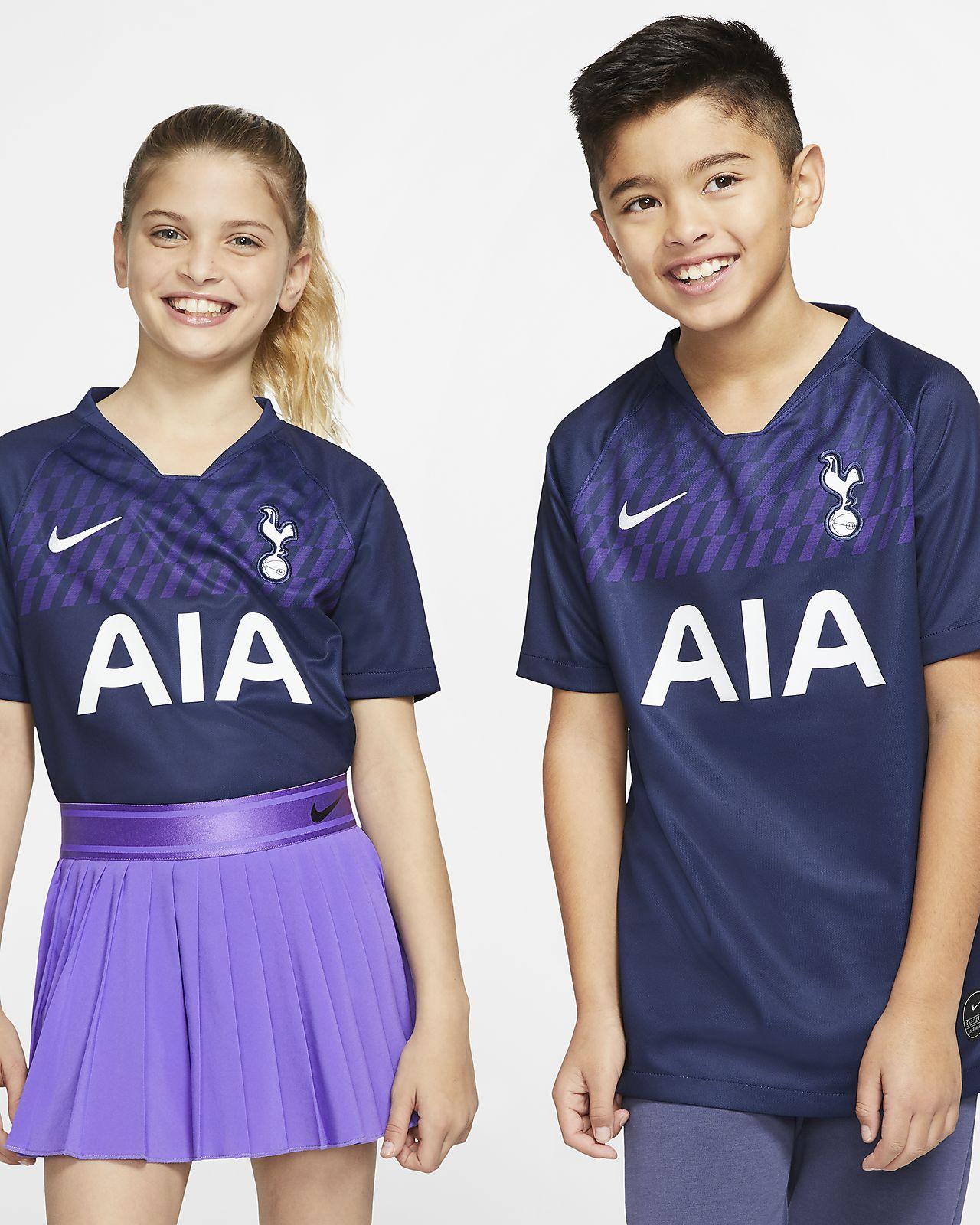 Camiseta de fútbol de visitante para niños talla grande Stadium del Tottenham Hotspur 2019/20