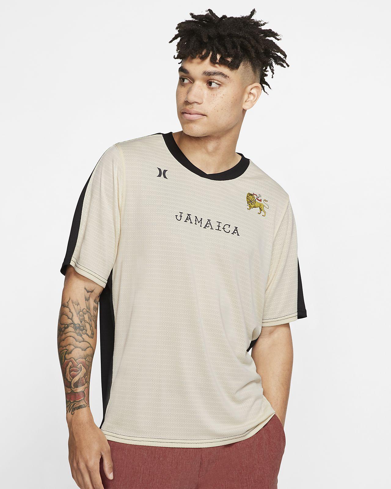 Camiseta tejida de manga corta para hombre Hurley Kingston