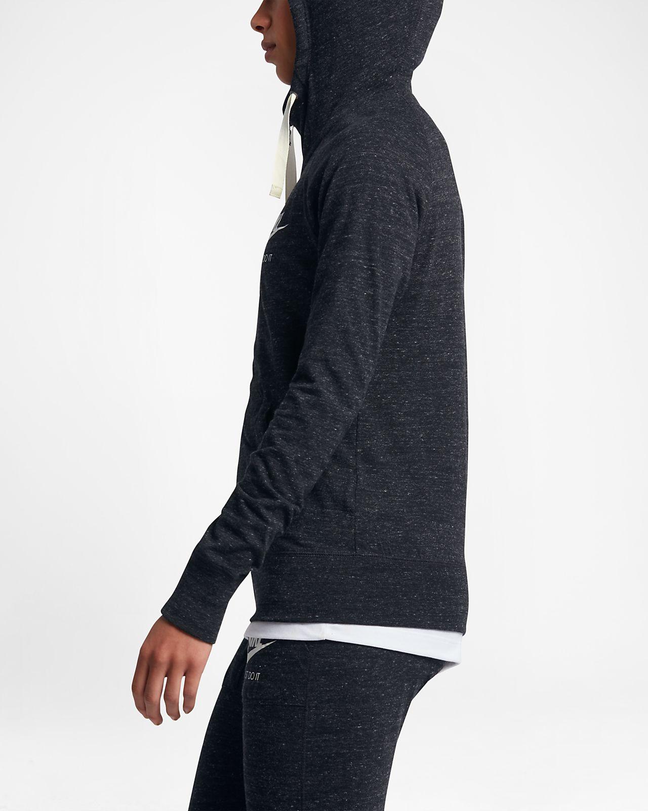 644ab5bd14353f Damska rozpinana bluza z kapturem Nike Sportswear Gym Vintage. Nike ...