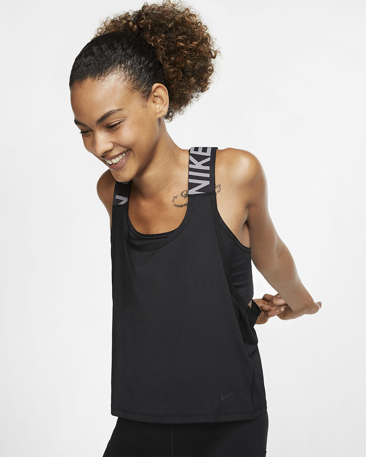 Nike Pro Intertwist Camiseta de tirantes - Mujer