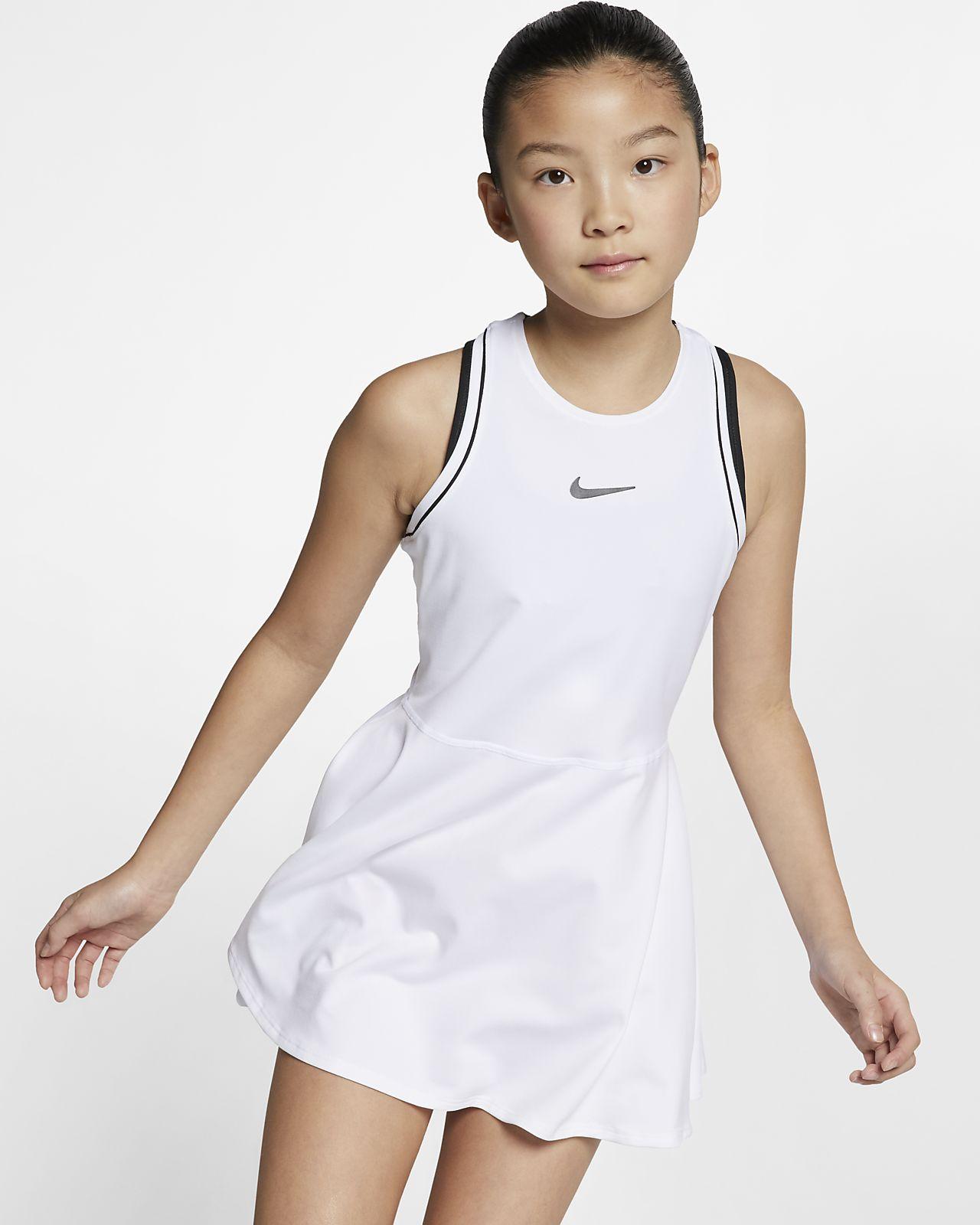 Φόρεμα τένις NikeCourt Dri-FIT για μεγάλα κορίτσια